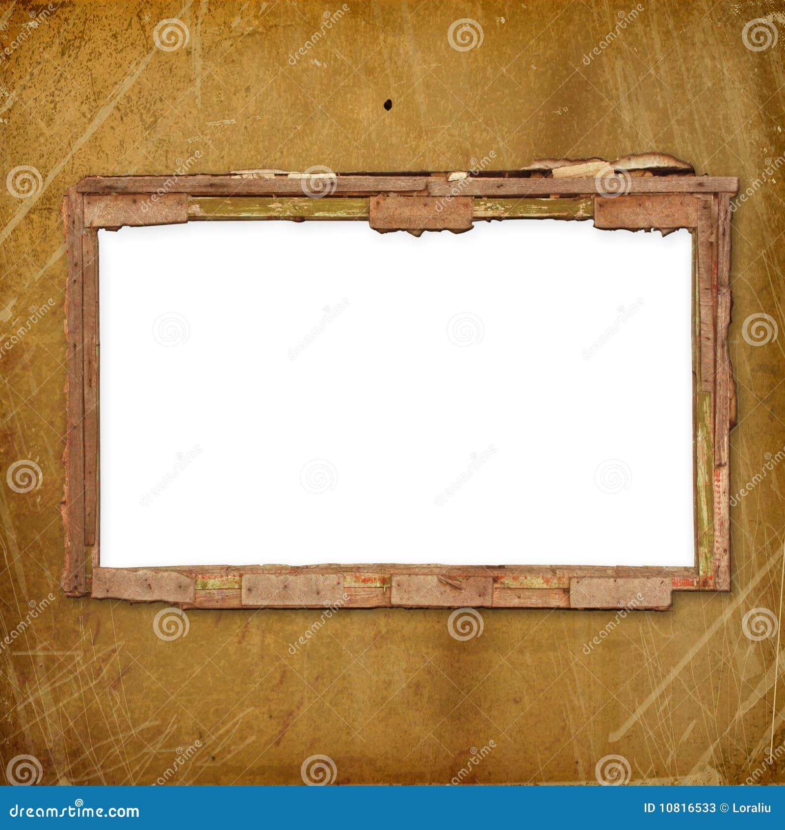 Viejo marco para la foto o invitaciones asociadas fotos de - Marcos fotos pared ...