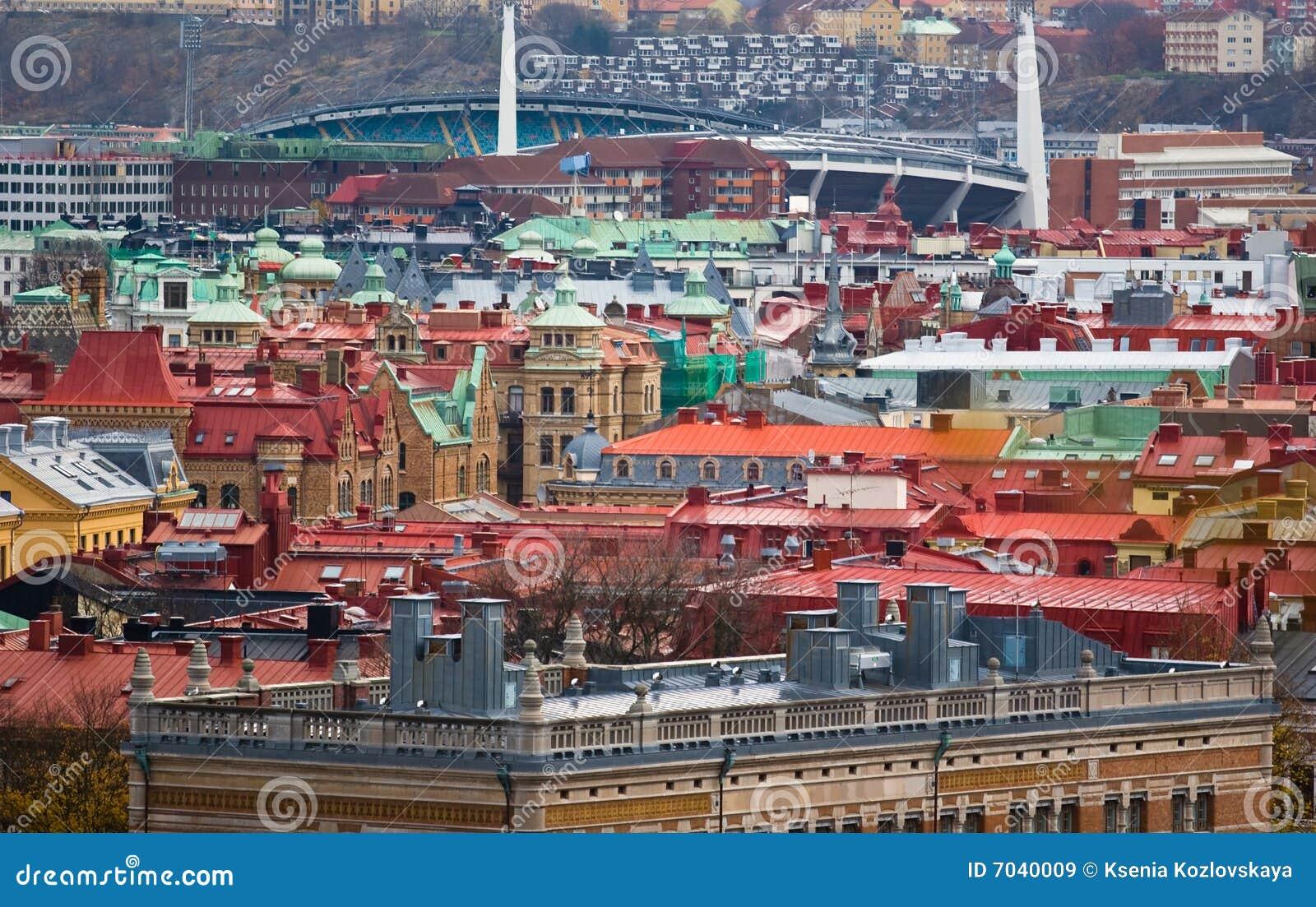 Viejo panorama de Sity