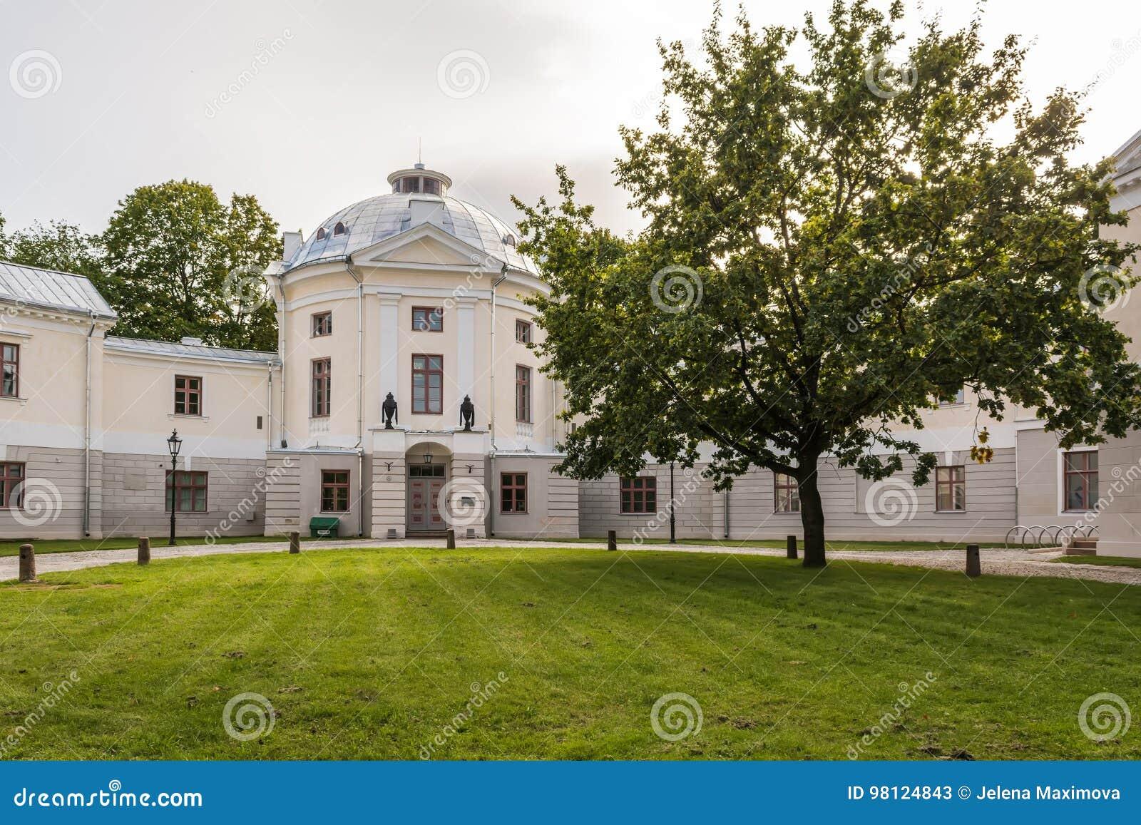 Viejo teatro anatómico en Tartu, Estonia