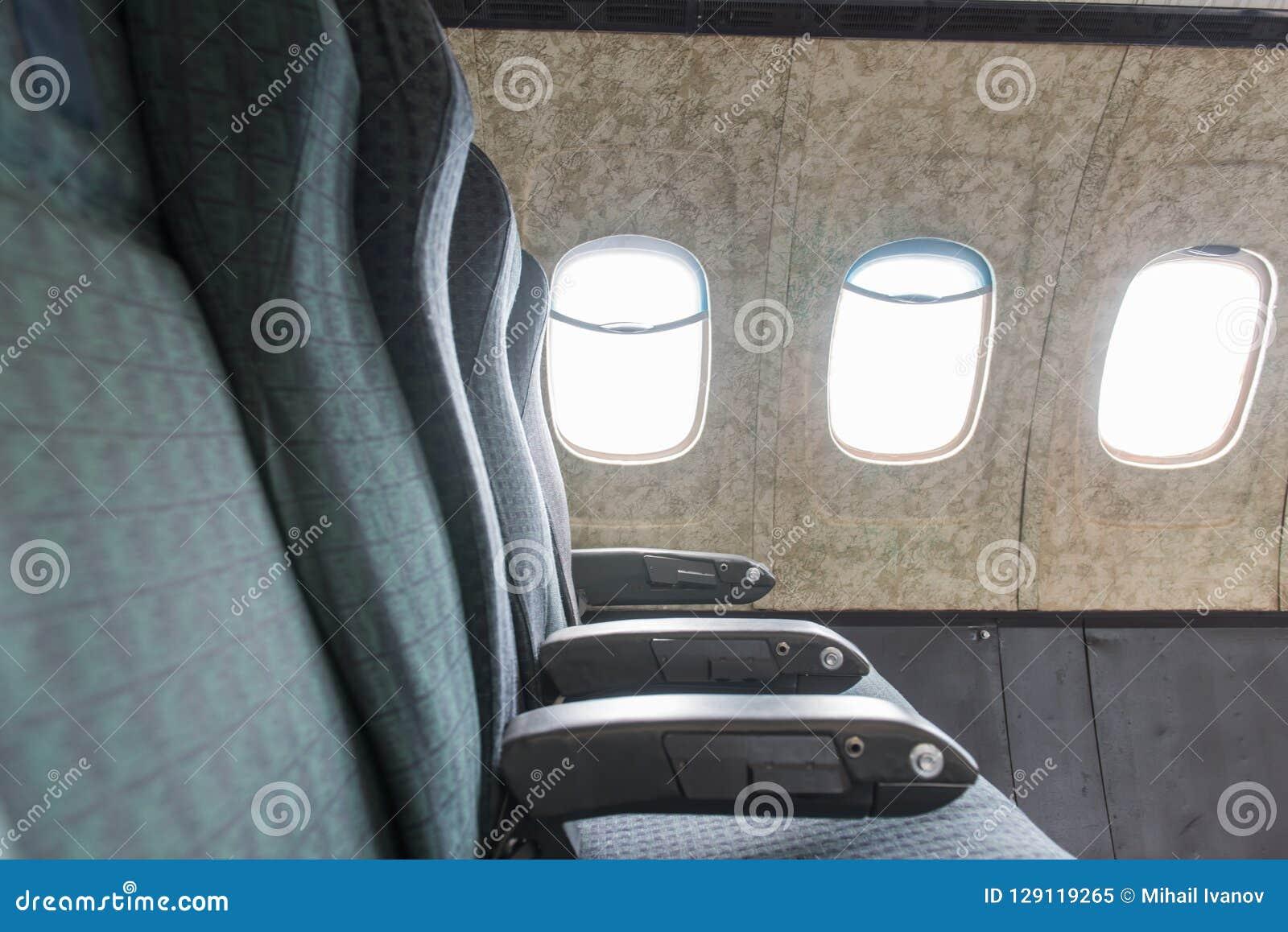 Viejos asientos del aeroplano