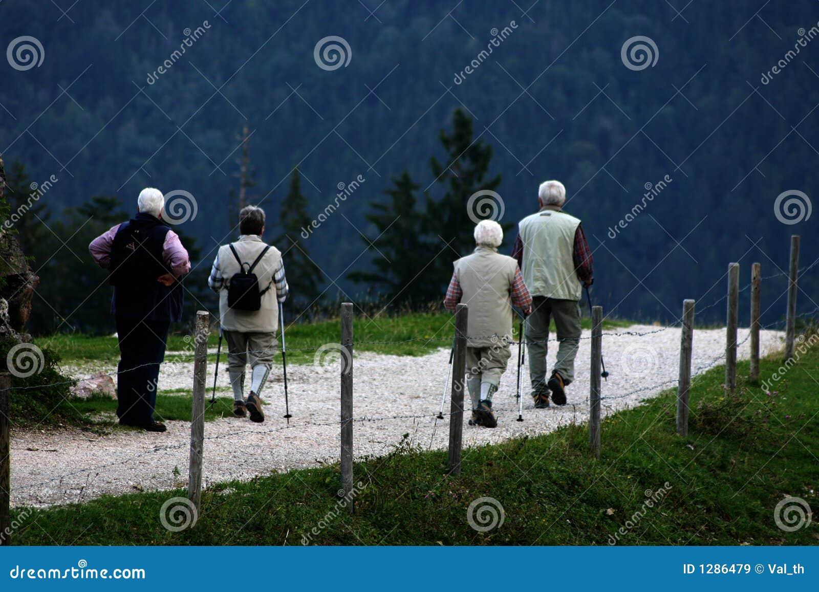 Viejos caminante