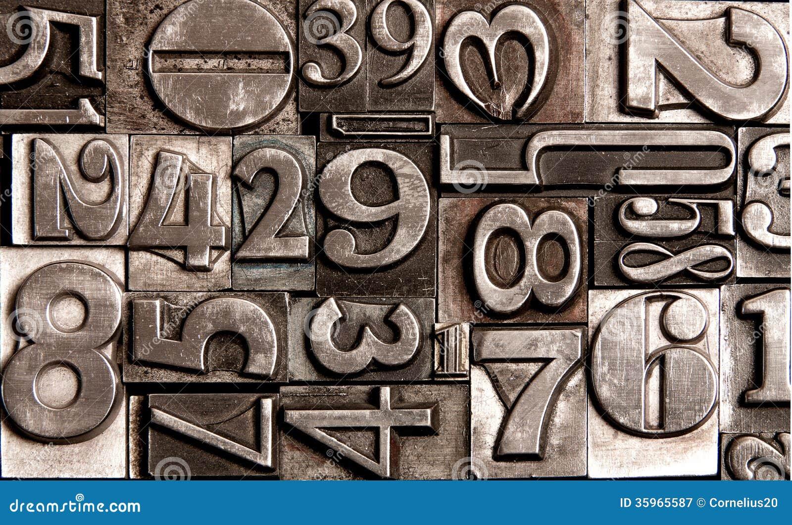 Viejos números de bloque