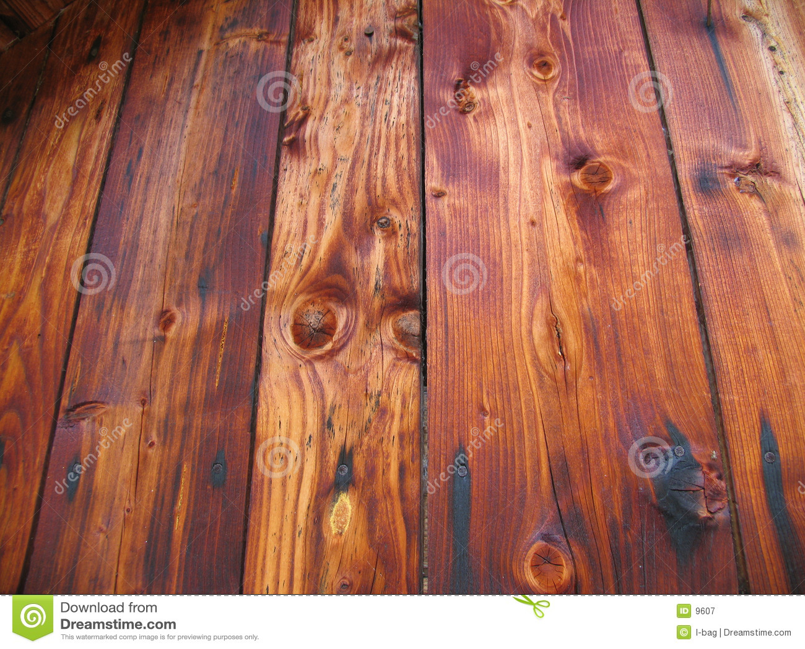 Viejos plancks de madera