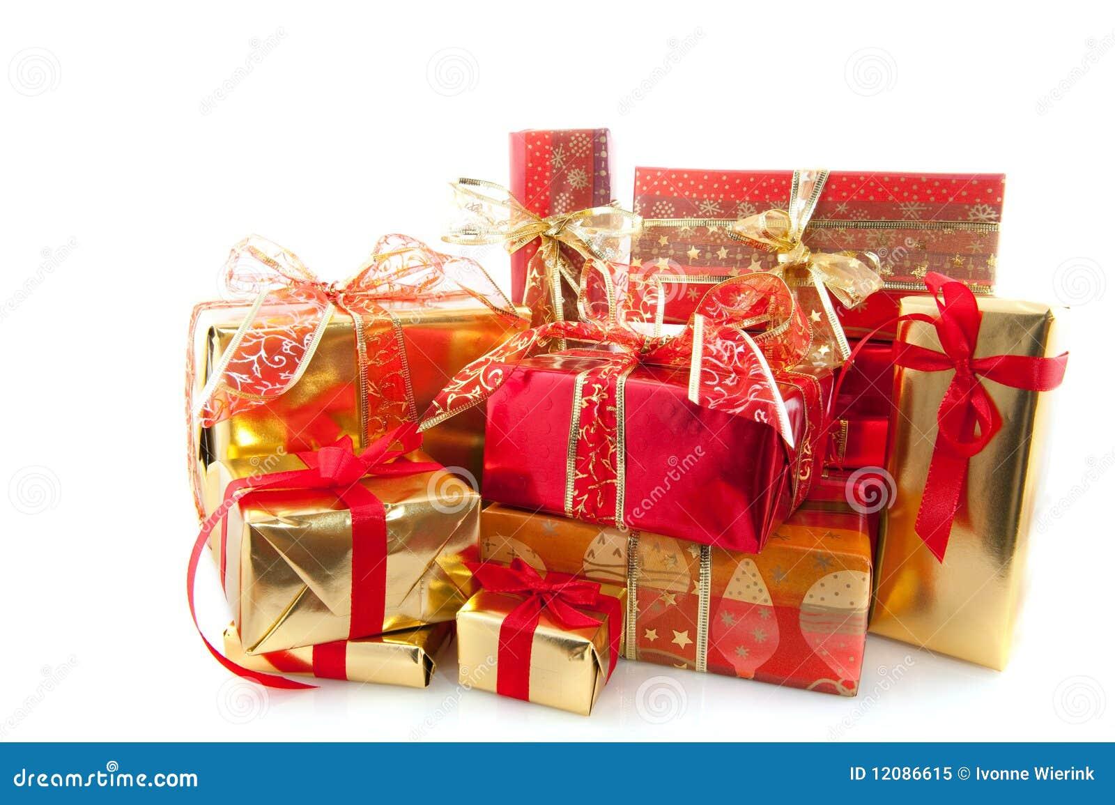 viele weihnachtsgeschenke lizenzfreies stockfoto bild. Black Bedroom Furniture Sets. Home Design Ideas