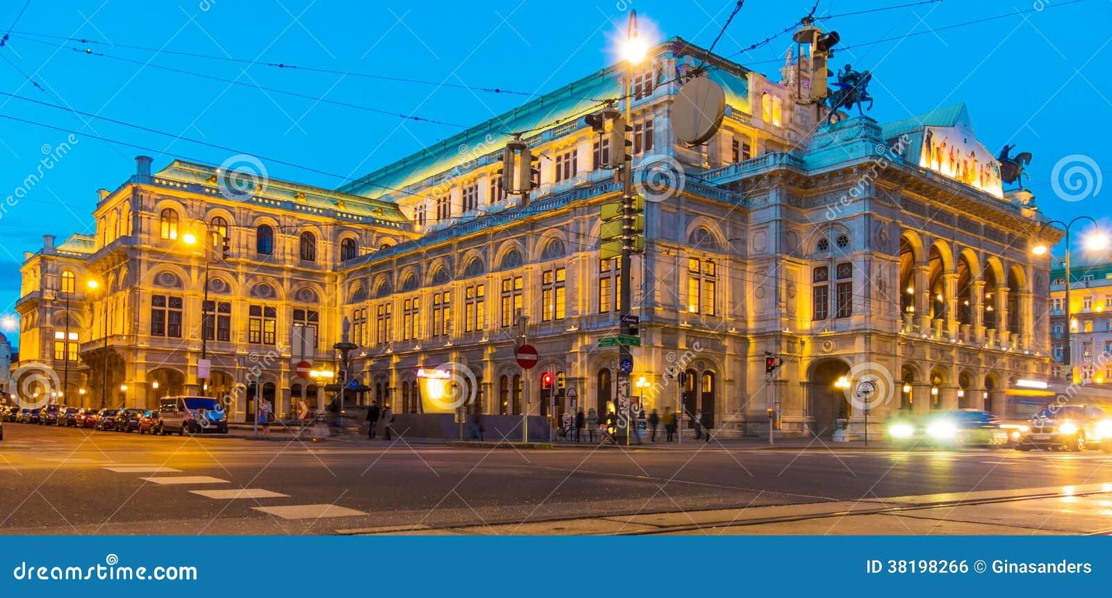 Viena. Áustria. ópera