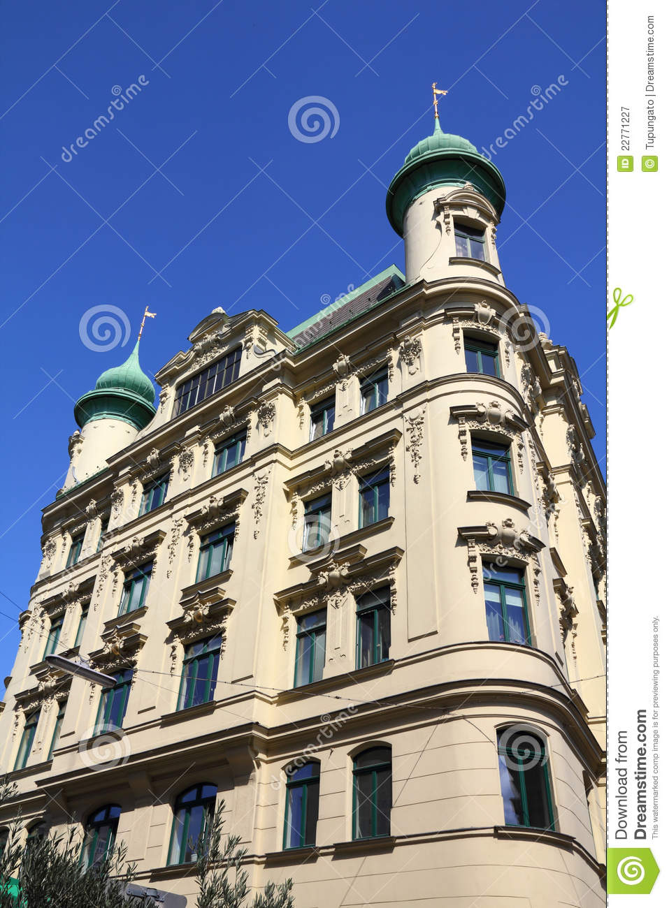 Vienna architecture royalty free stock photography image for Architecture vienne