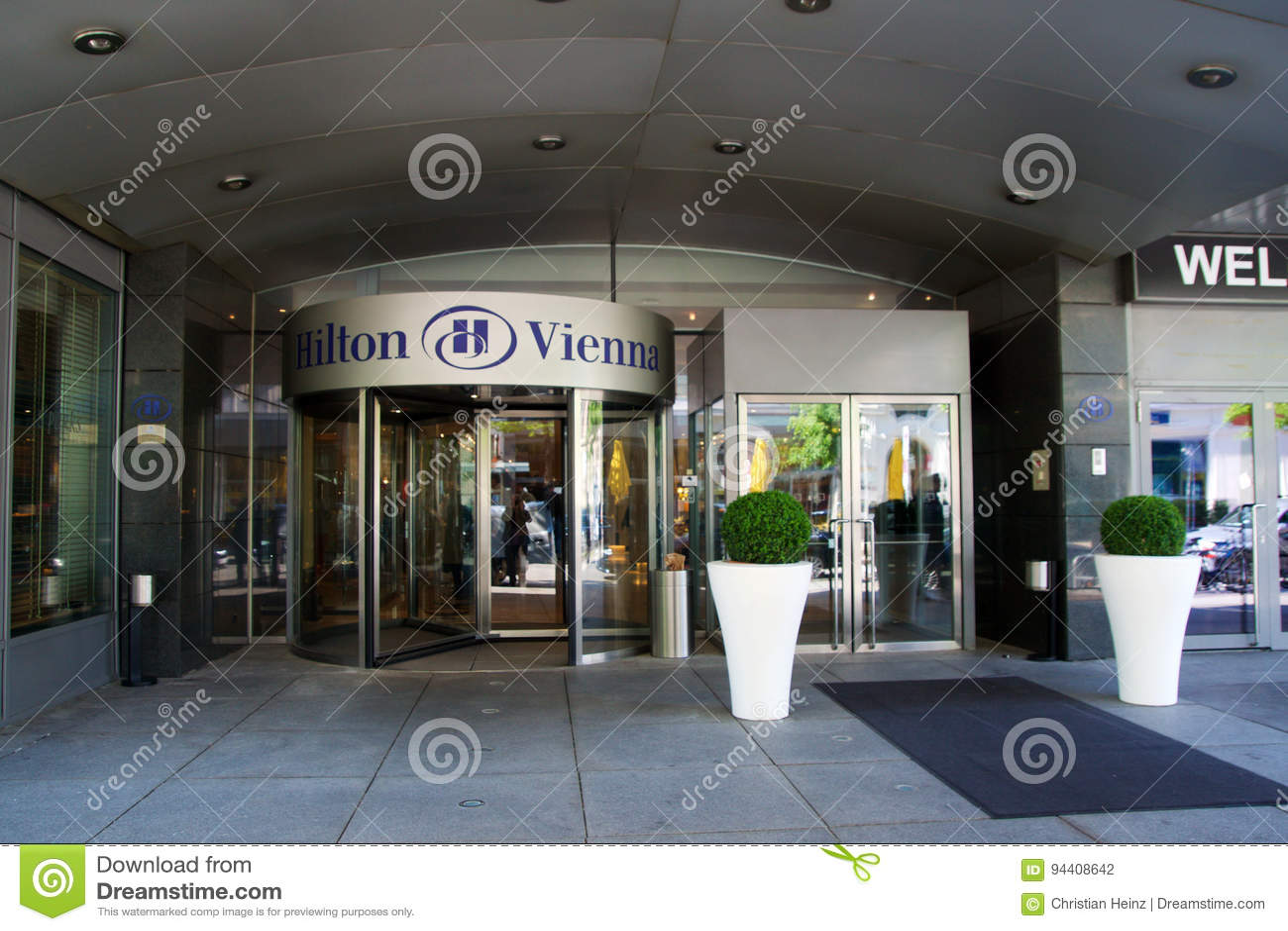 Vienna Austria Apr 30th 2017 The Logo Above The Main Entrance