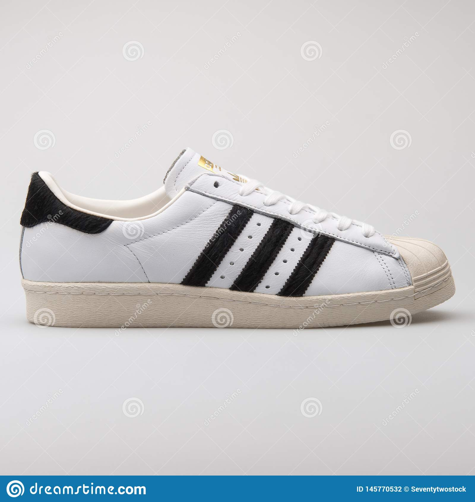 8982fd07 Adidas Superstar 80s White Sneaker Editorial Photography - Image of ...