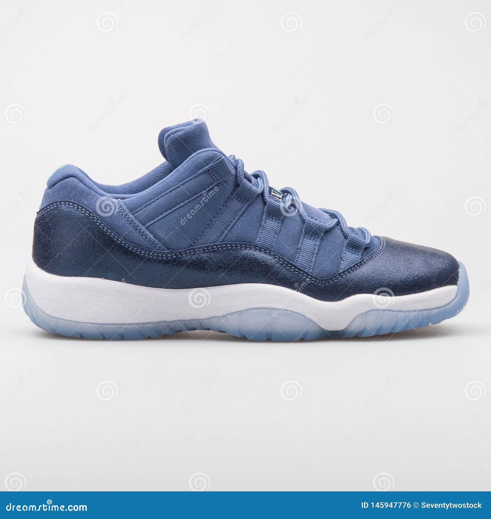 super cute 1788e 7c159 Nike Air Jordan 11 Retro Low GG Blue Sneaker Editorial Photo ...