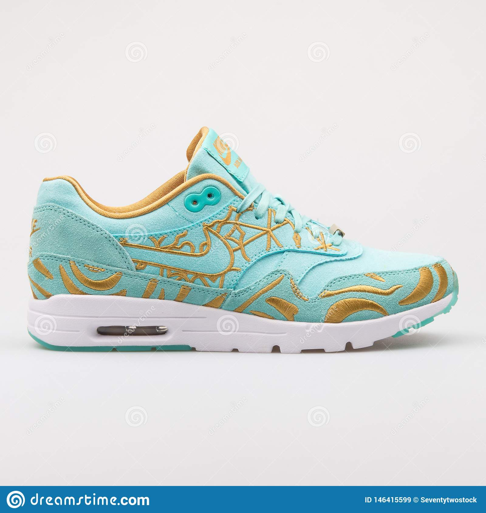 Nike Air Max 1 Ultra LOTC QS Green And Gold Sneaker