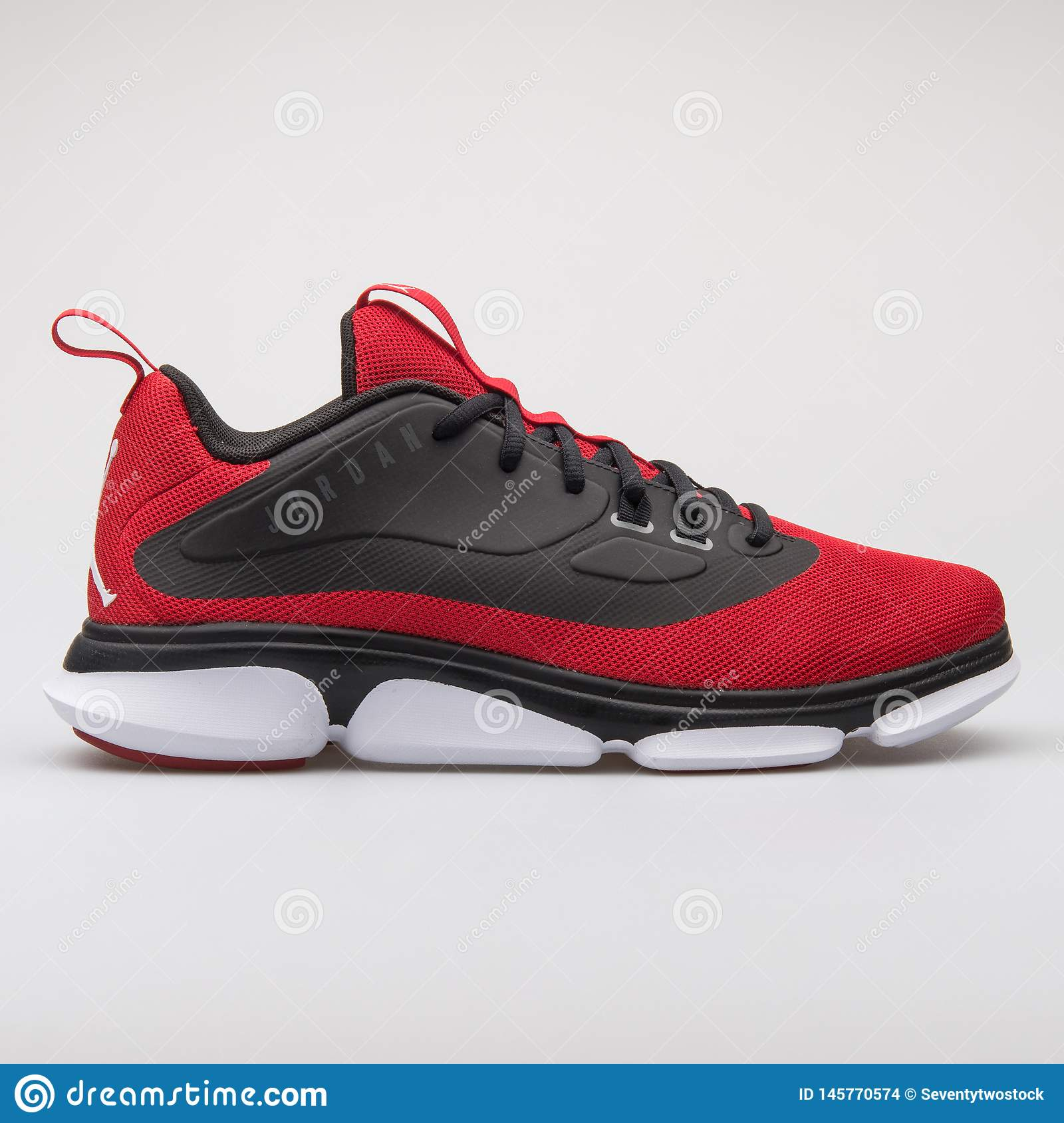 c301e66a VIENNA, AUSTRIA - AUGUST 7, 2017: Nike Jordan Impact TR red and black  sneaker on white background. More similar stock images