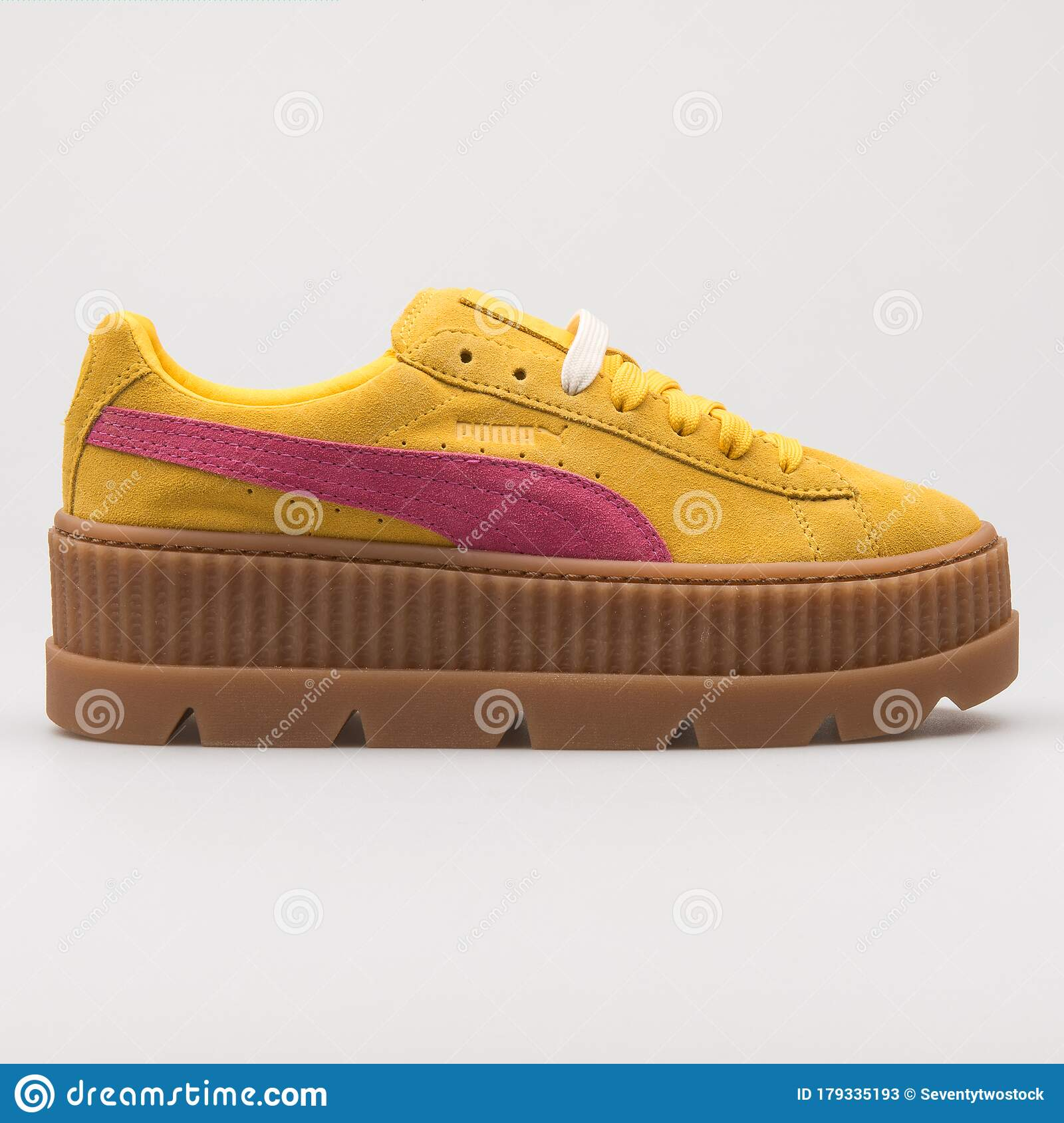 Puma Cleated Creeper Suede Yellow
