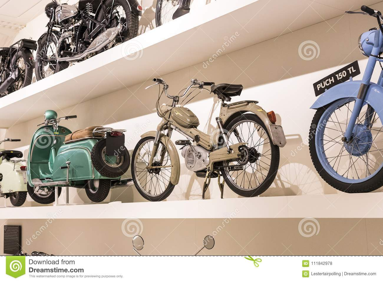 The Technical Museum In Vienna Exhibits The Exposition Presents The ...