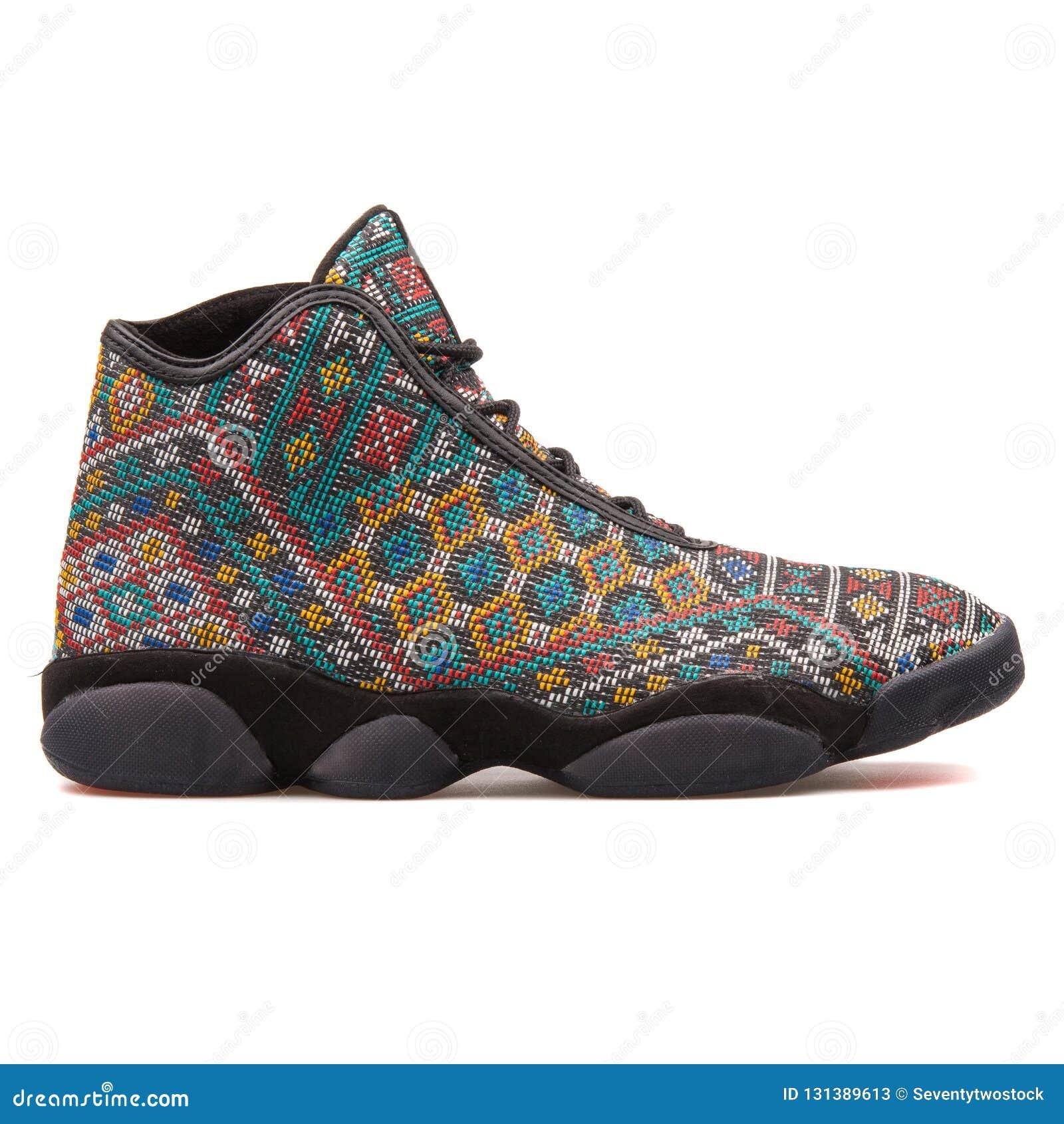 Nike Air Jordan 13 Horizon Premium sneaker isolated on white background 3ba4c9ce1