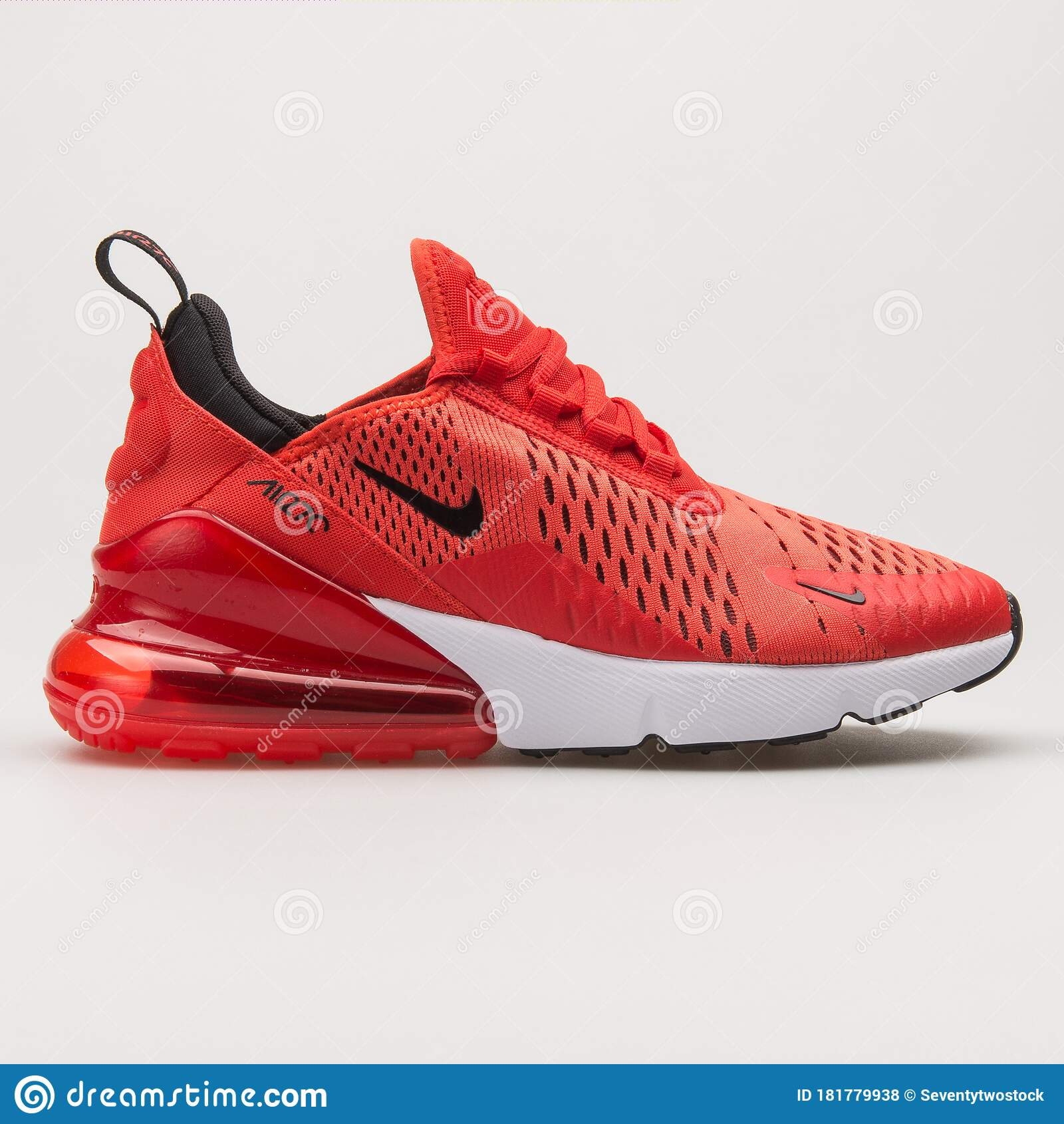 Nike Air Max 270 Red, Black And White