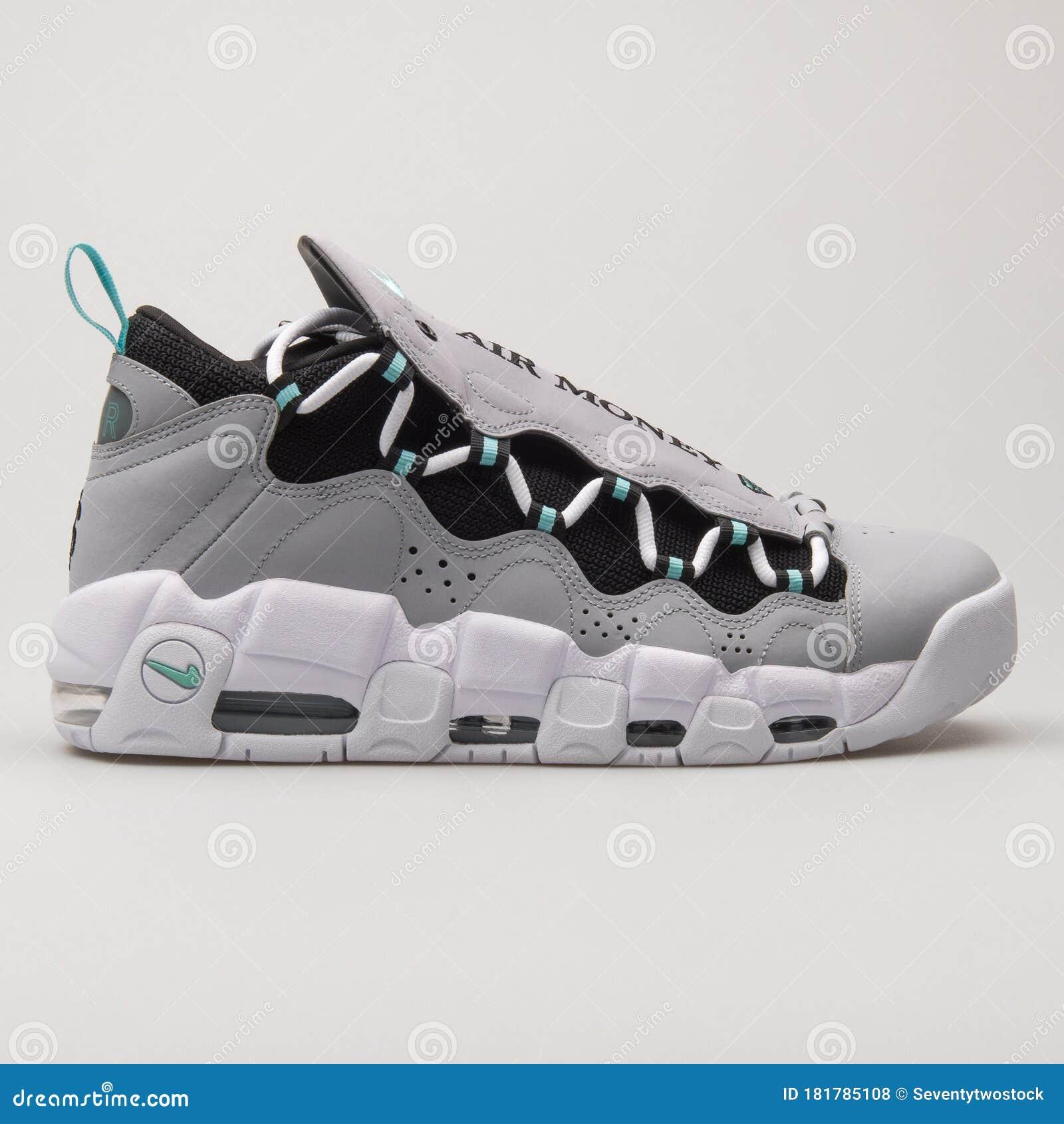 Nike Air More Money Grey, Green, Black