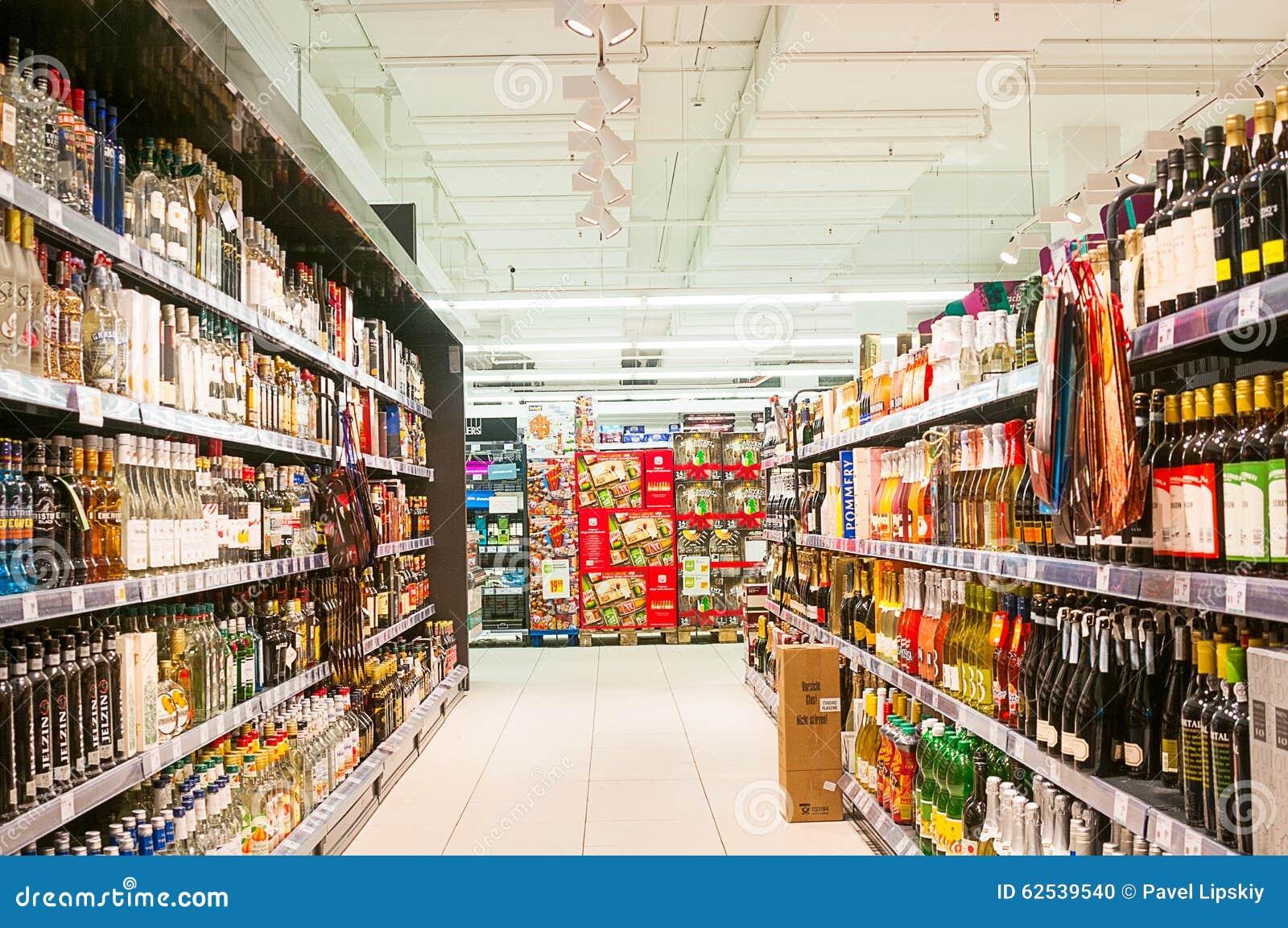 Supermarkt Merkur