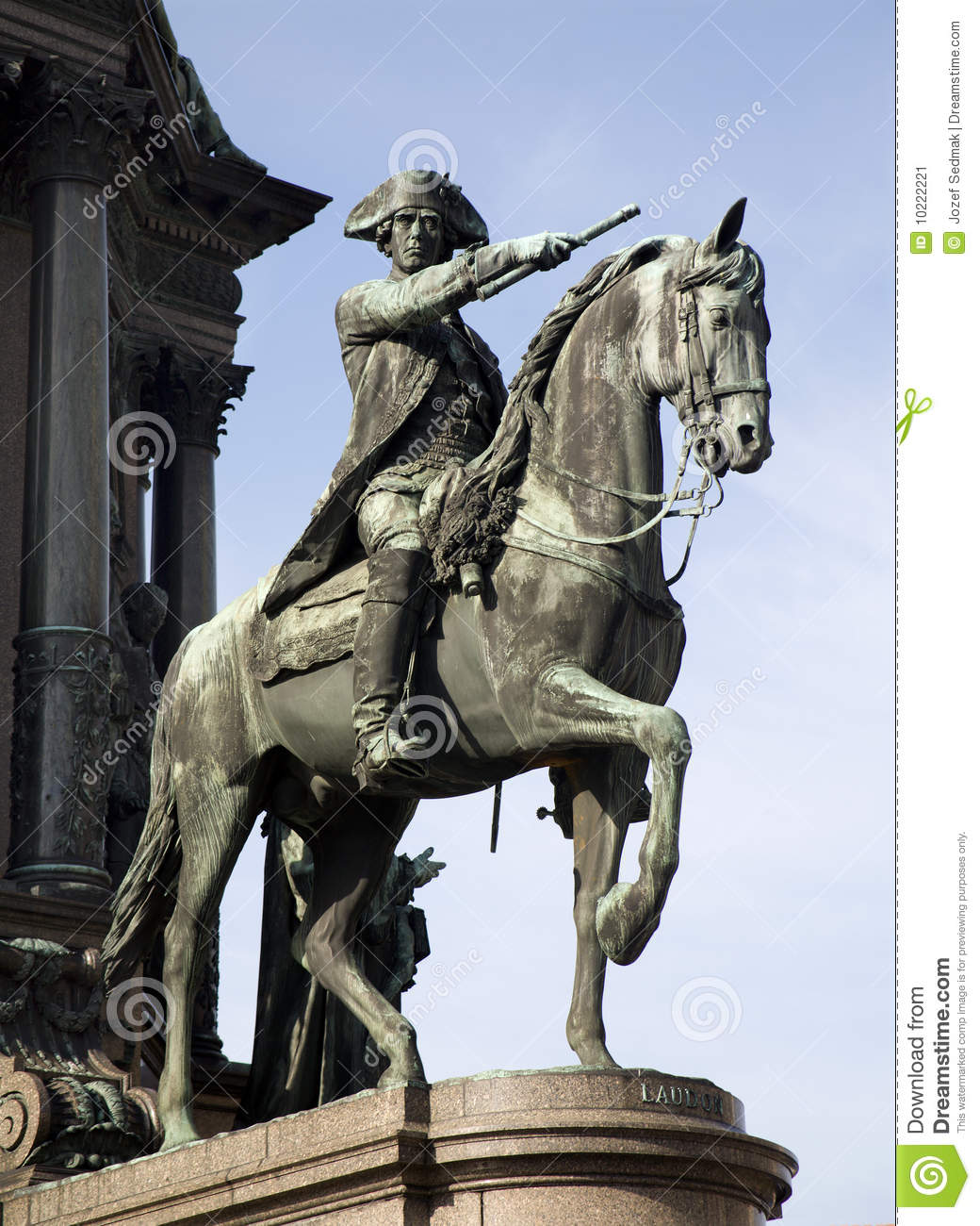 Download Vienna- Detail From Maria Theresia Monument Stock Image - Image of queen, statuary: 10222221