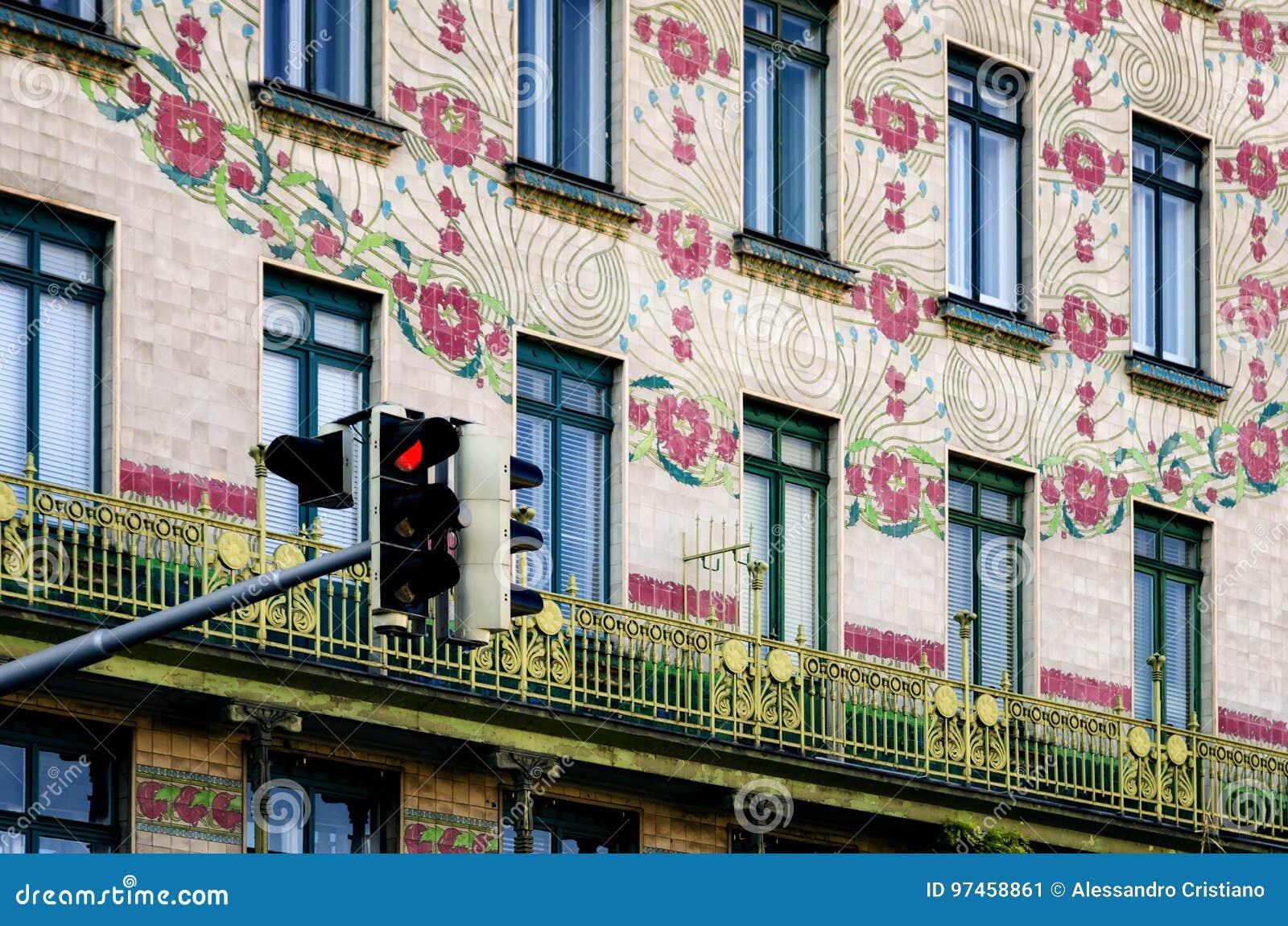 Vienna, Majolica Hause
