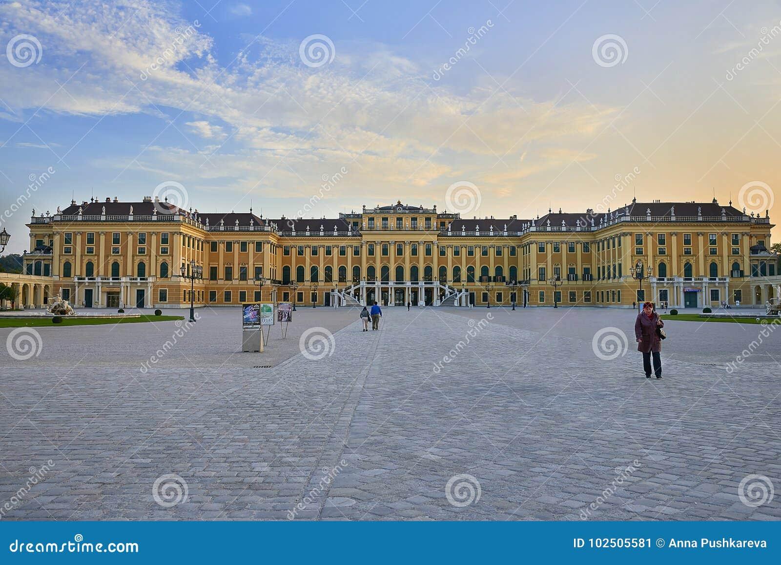 Vienne, Autriche - 25 septembre 2013 : Palais et jardins de Schonbrunn L ancienne résidence impériale d été Le palais est un de T