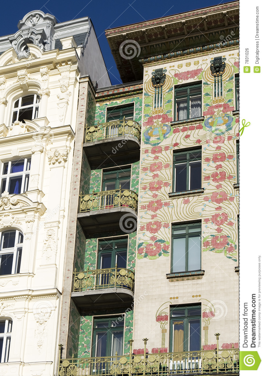 Viennese architecture art nouveau otto wagner royalty for Architecture art