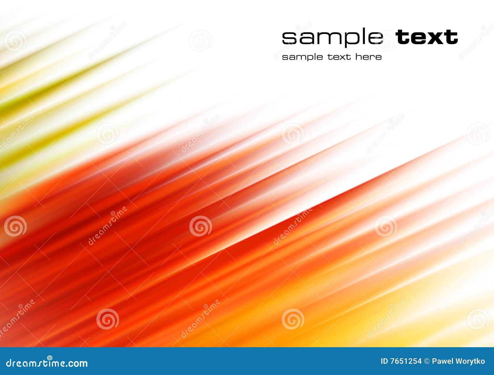 Viento rojo abstracto