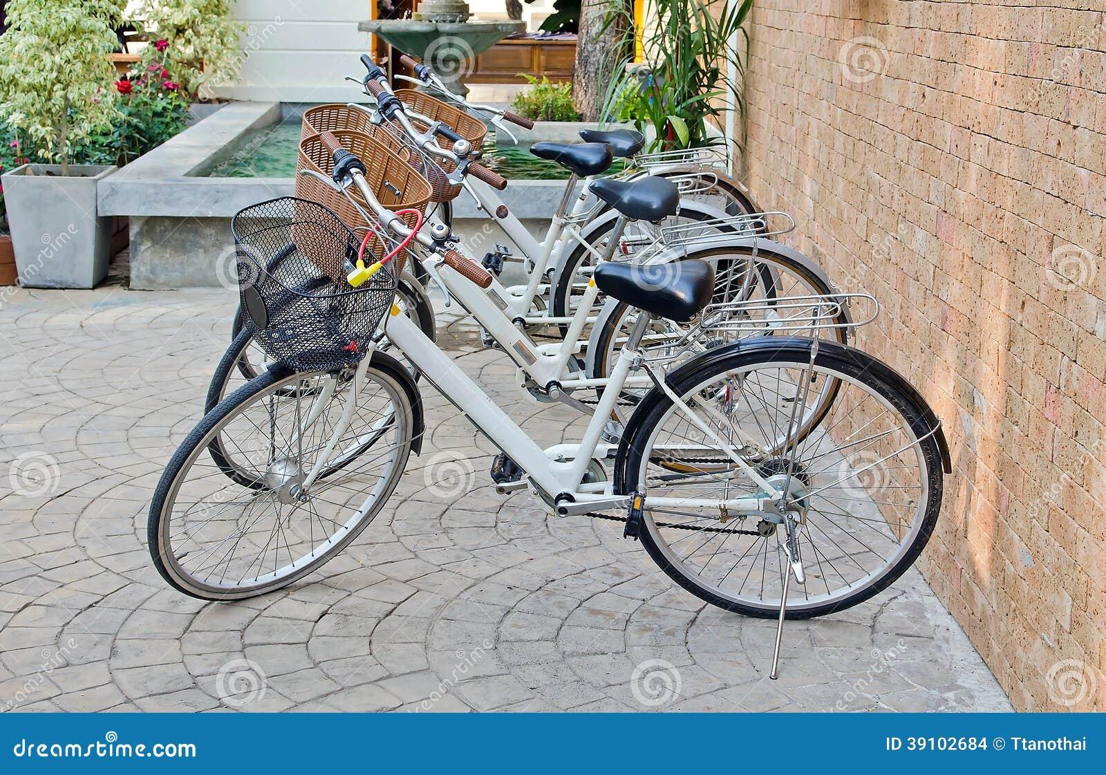 Vier fietsen