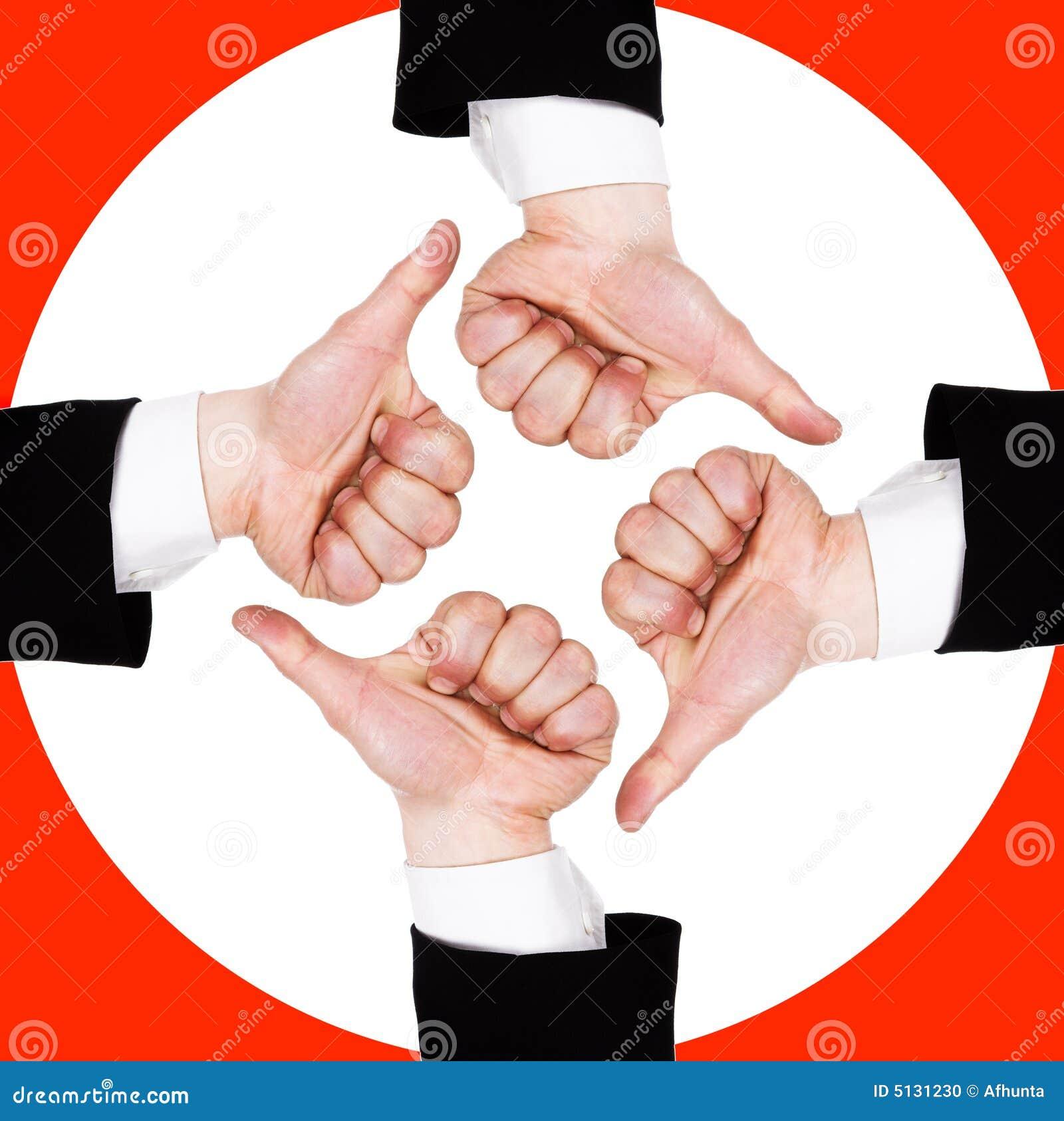 Vier Hände Stockfoto Bild Von Hitler Fahne Menschlich 5131230