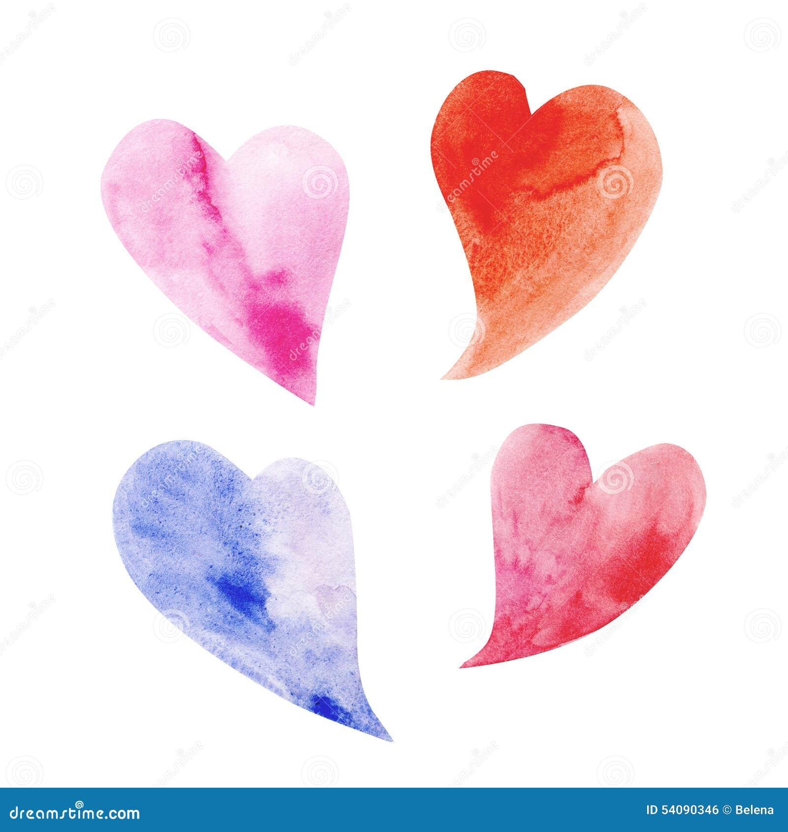 Vier hartsymbool