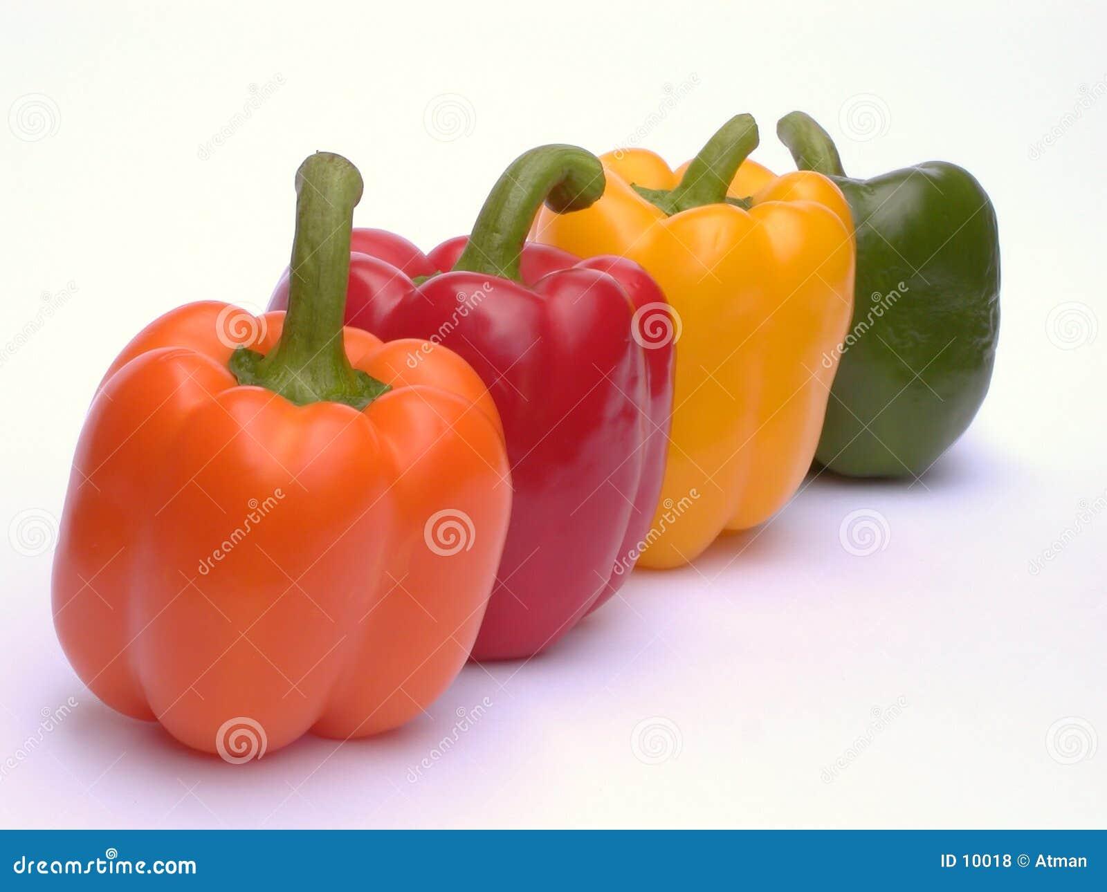 Vier Paprika