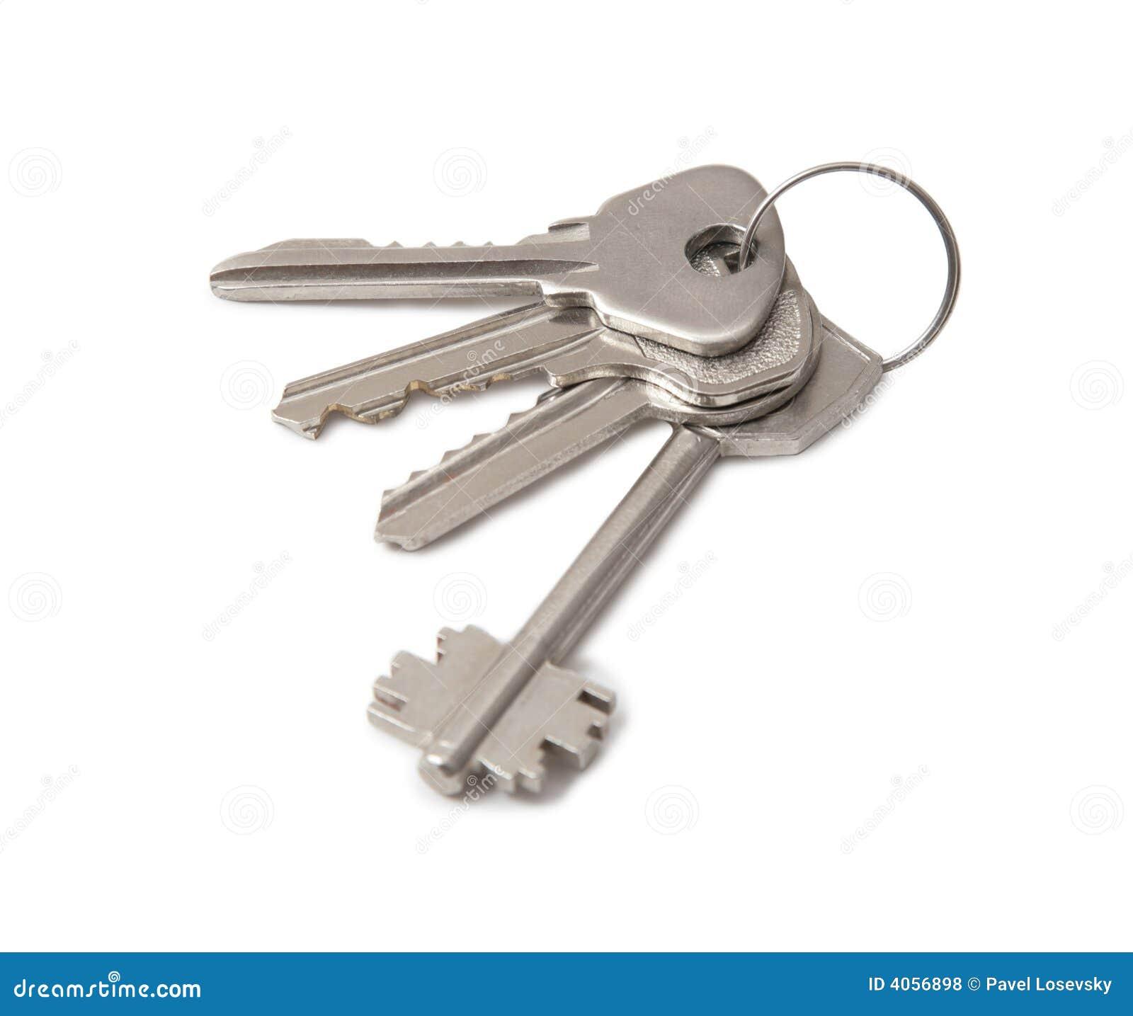 Vier sleutels op ring 2