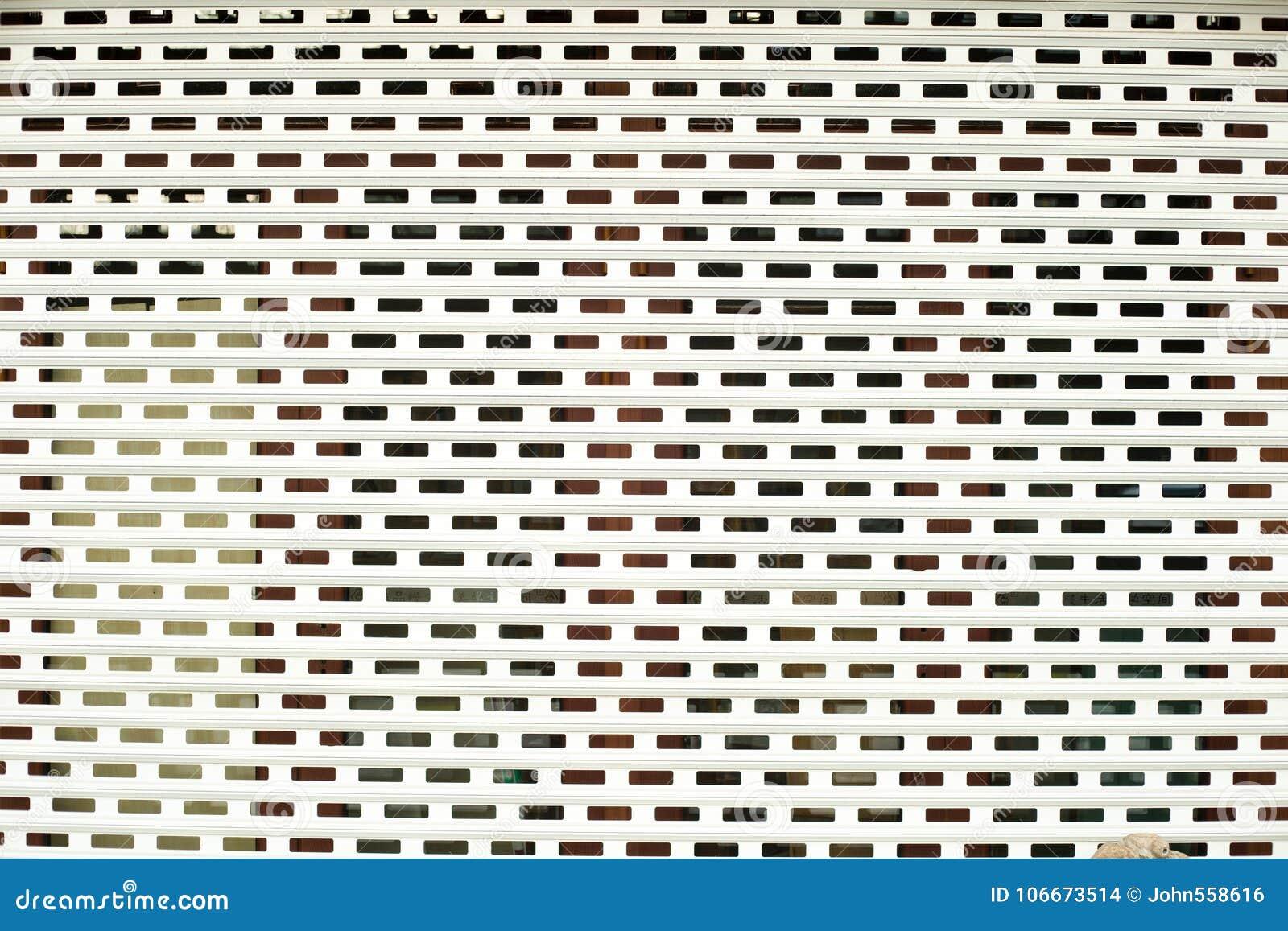 Vierkant blind