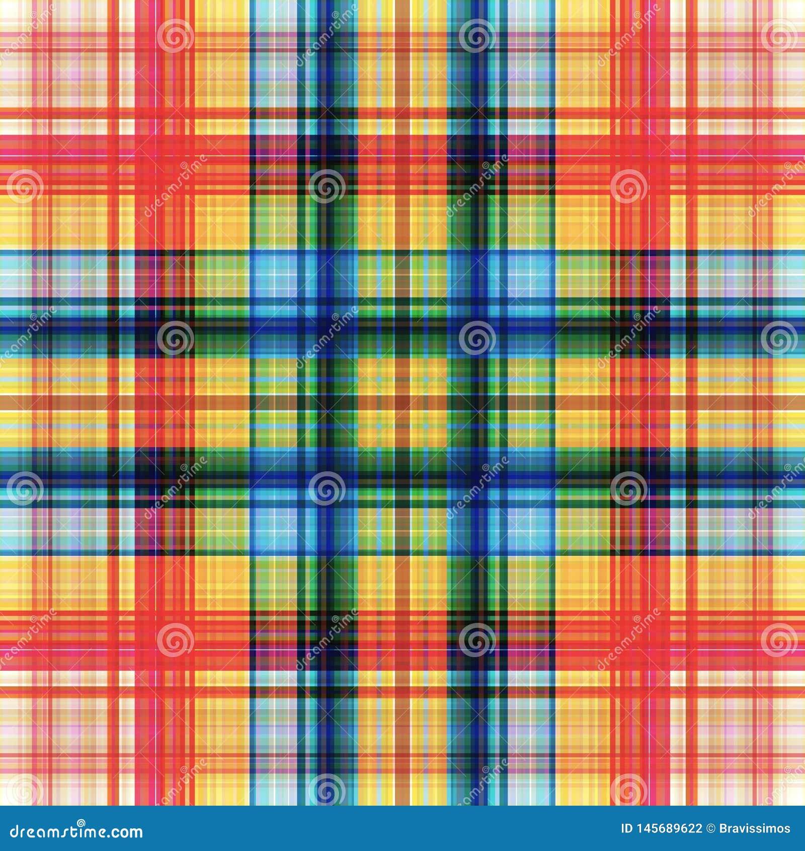 Vierkant hypnotic patroon, geometrische illusie decor