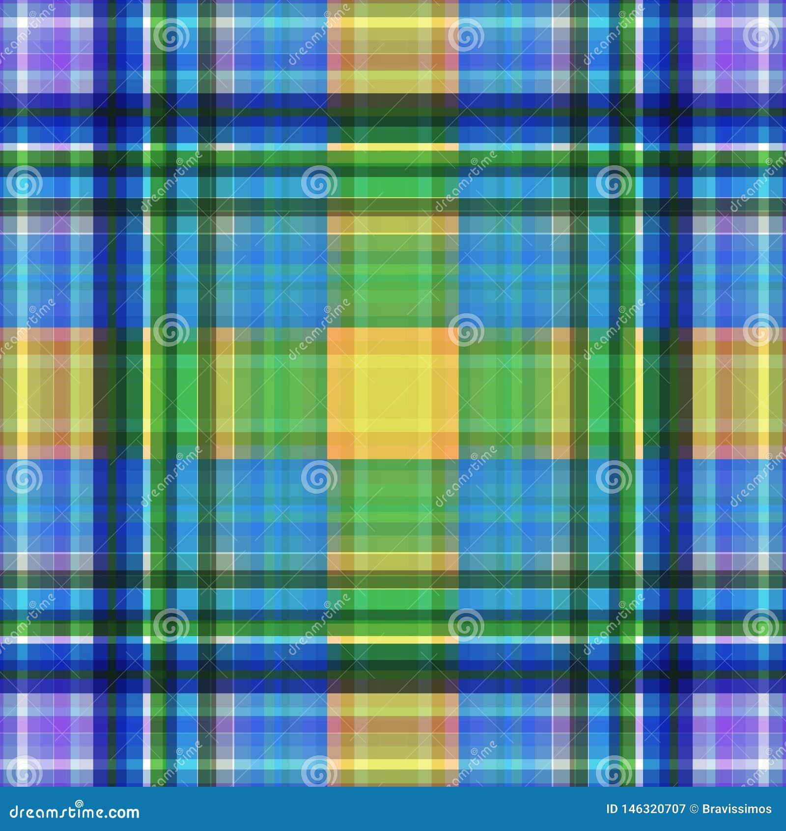 Vierkant hypnotic patroon, geometrische illusie Grafische tegel