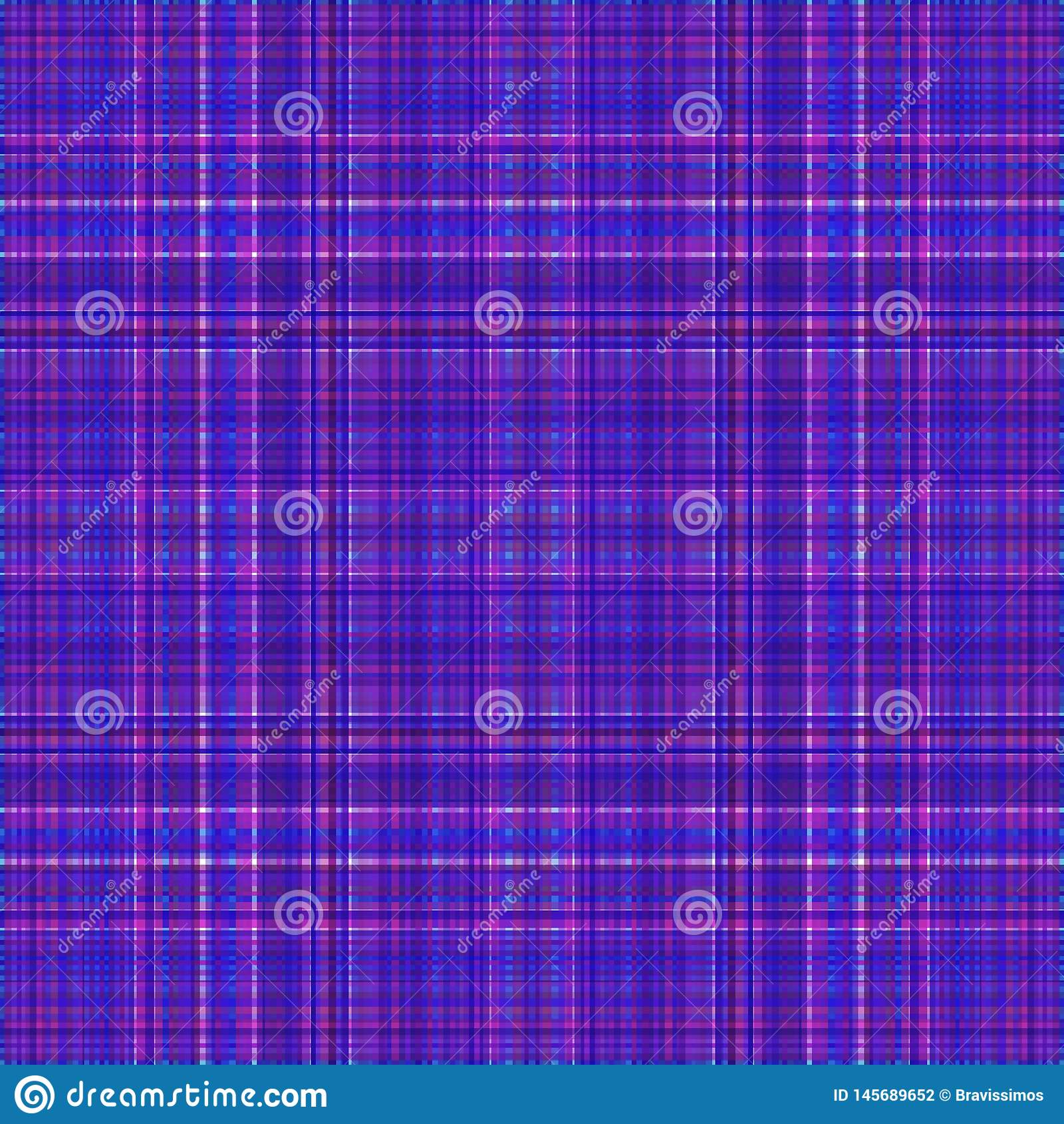 Vierkant hypnotic patroon, geometrische illusie herhaald decor