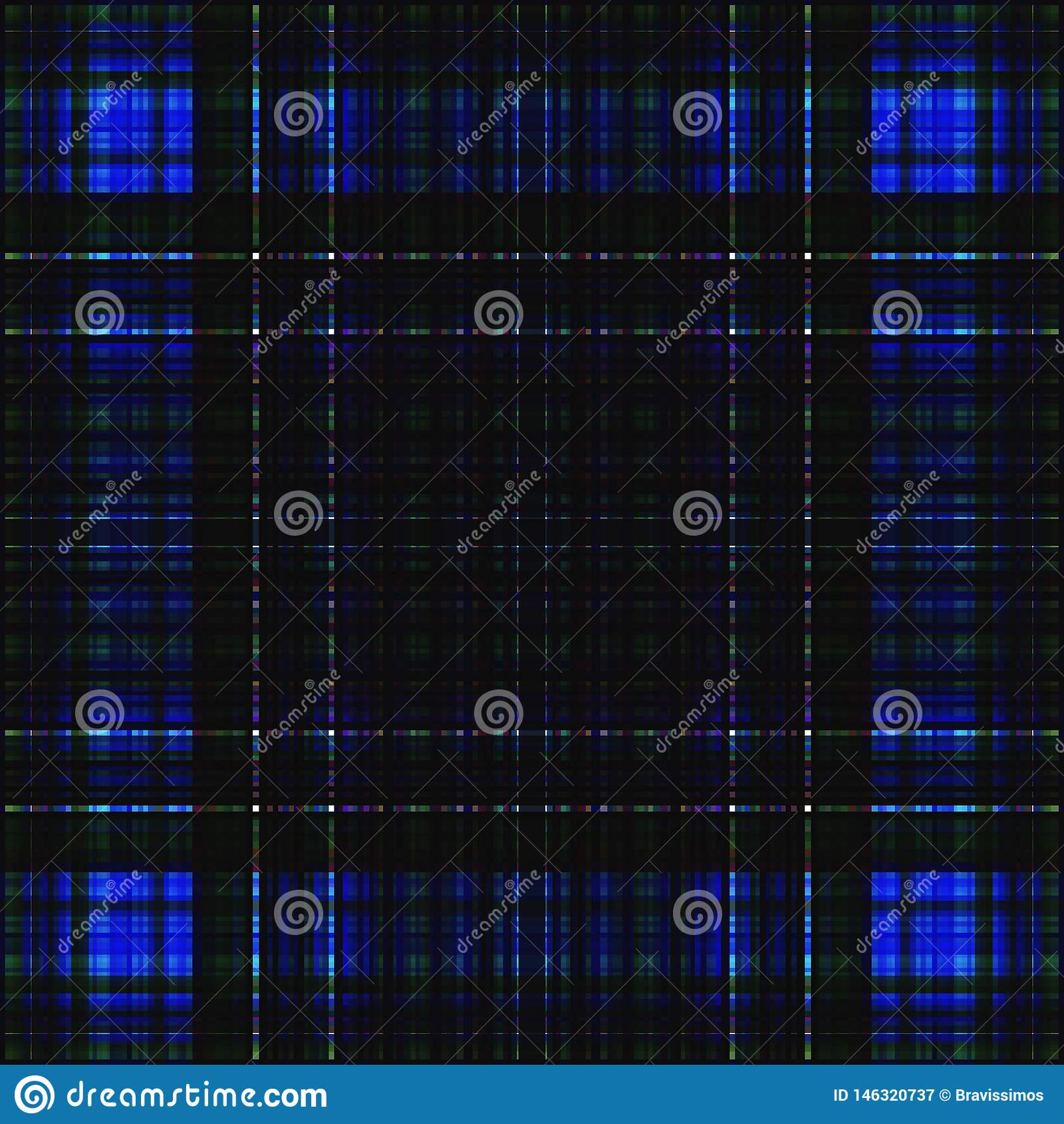 Vierkant hypnotic patroon, geometrische illusie herhaalde tegel