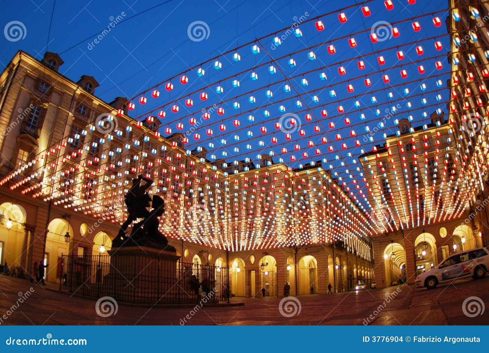 Vierkante lichten, Turijn