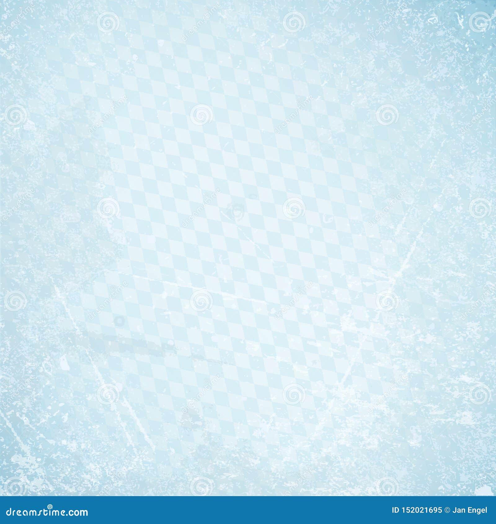 Vierkante Retro het Document van Oktoberfest Achtergrond Diagonaal Diamond Pattern Blue