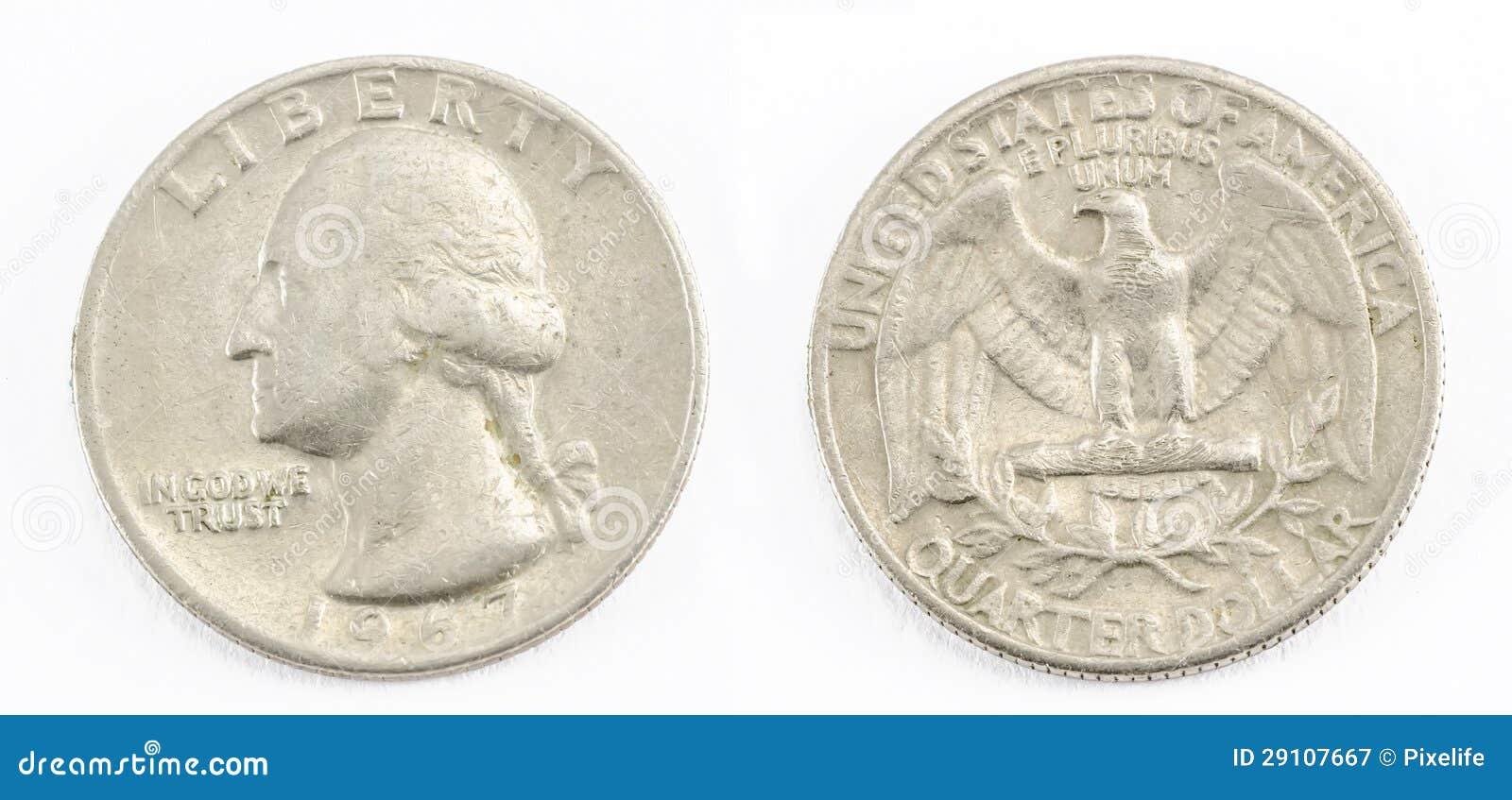 Viertel des Dollars