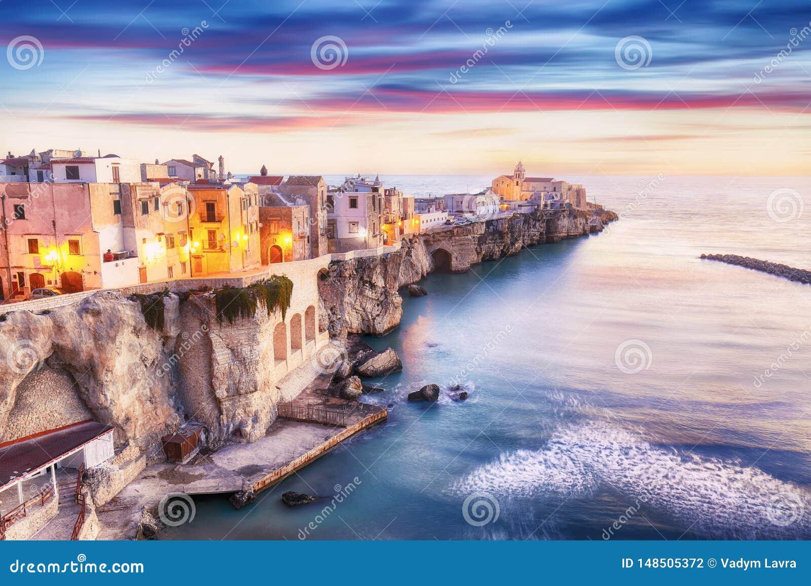 Vieste - beautiful coastal town in Puglia