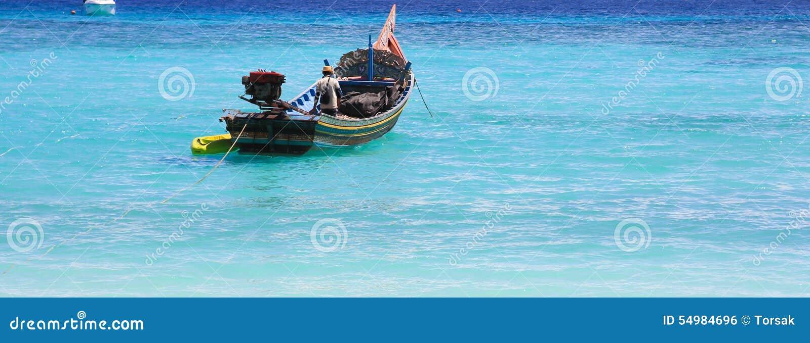 Viet för nam för strandfartygdanang fiske