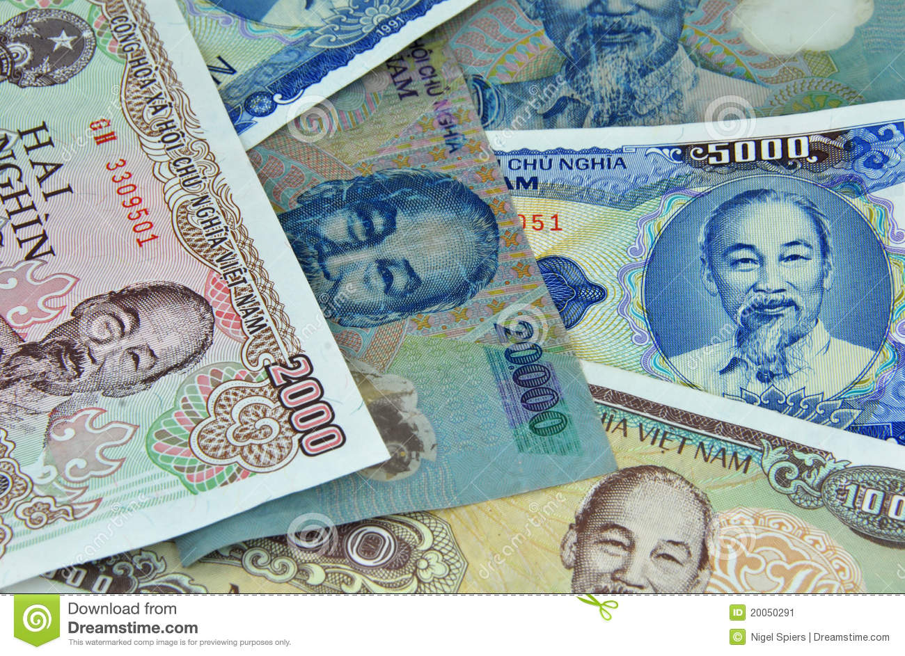 Vietnam Currency Small Notes Money Stock Image Image Of Funds Banknote 20050291