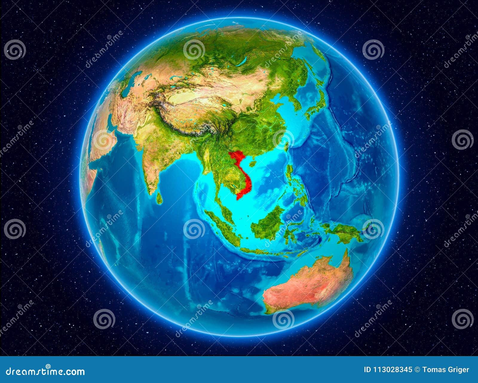 Vietnam en la tierra
