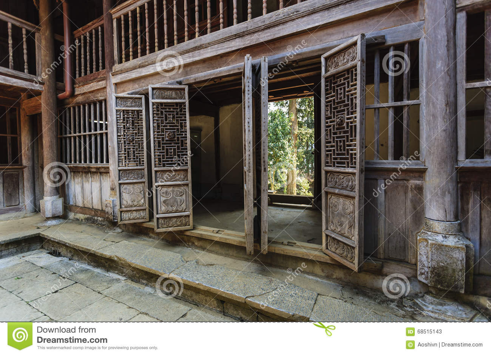 Vietnam gammalt hus