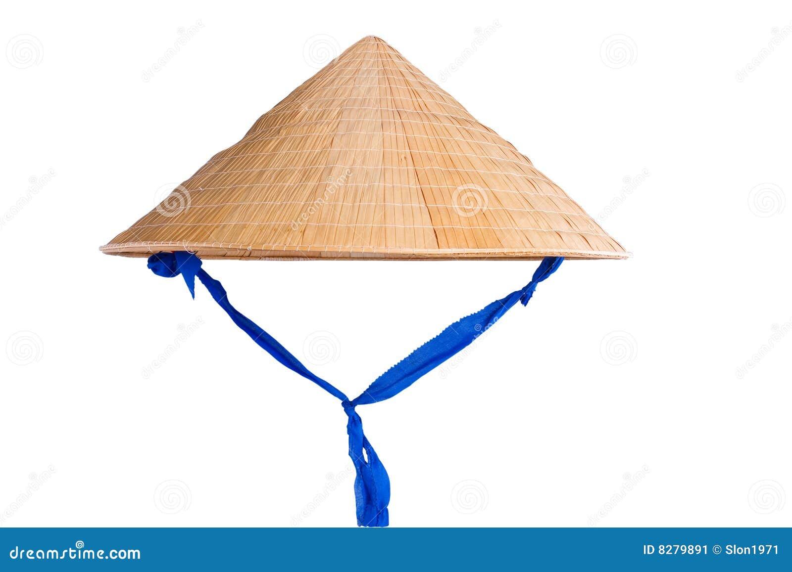 Как сделать китайскую шляпу соломенную шляпу