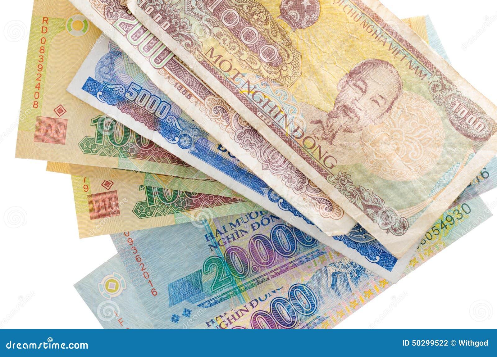 Vietnam Valuta Arkivfoto - Bild: 50299522