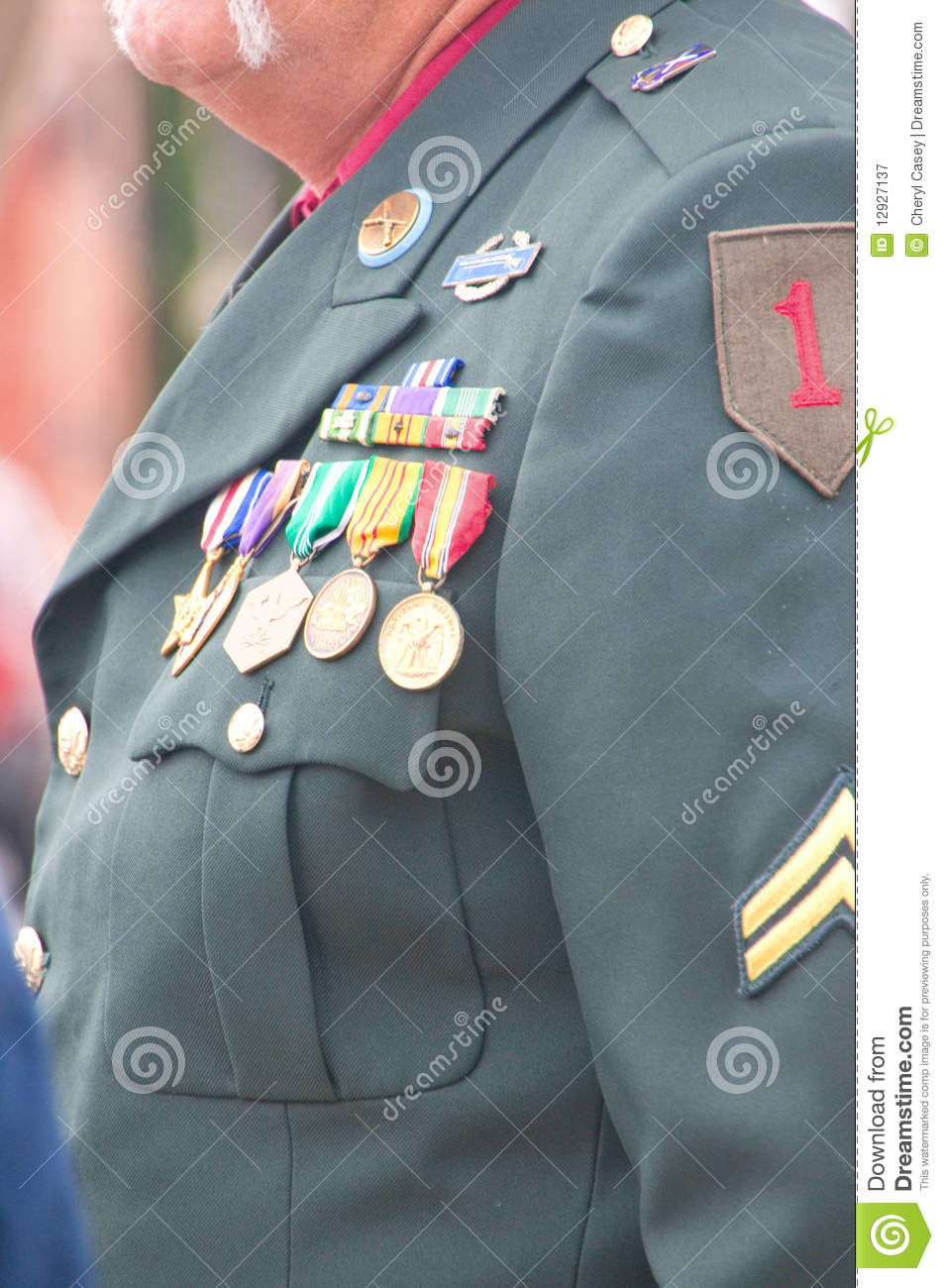 vietnam veteran u0026 39 s uniform royalty free stock photography