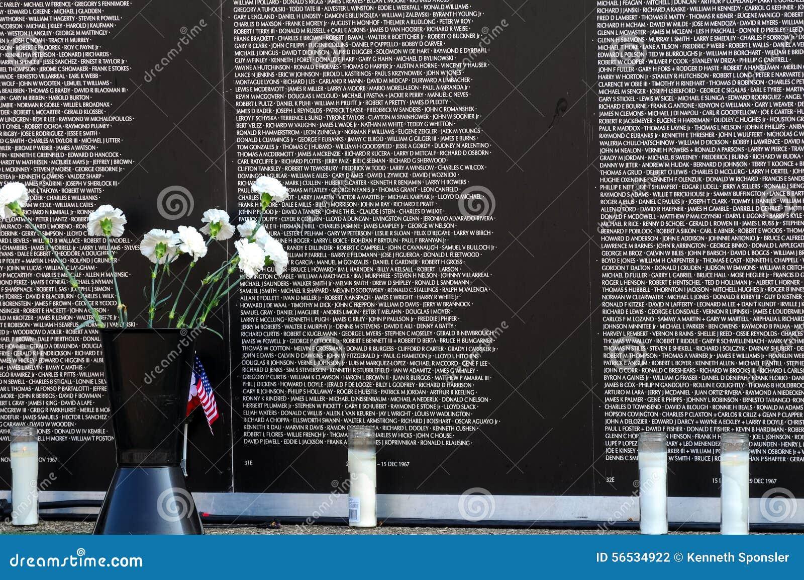 Vietnam Wall Panels Editorial Photography Image 56534922