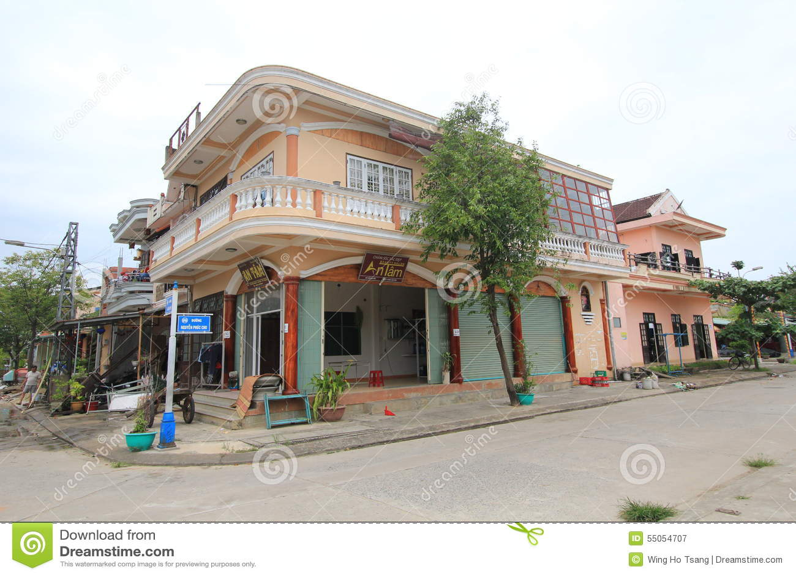 Vietname Hoi An street view