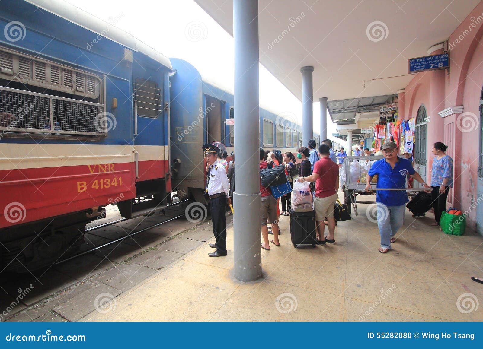 Vietname Hue Railway Station